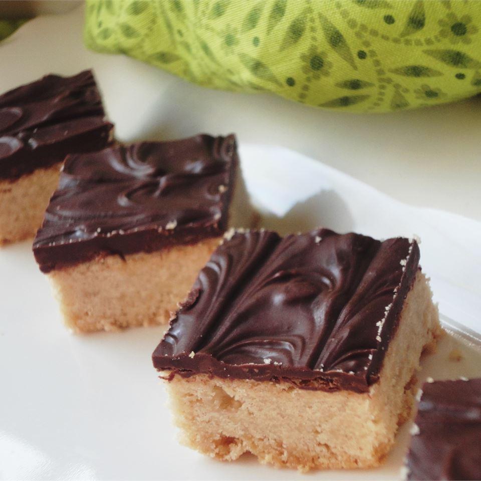 Brown Sugar Shortbread larkspur