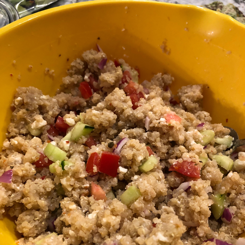 Italian Quinoa Salad Rhondasue