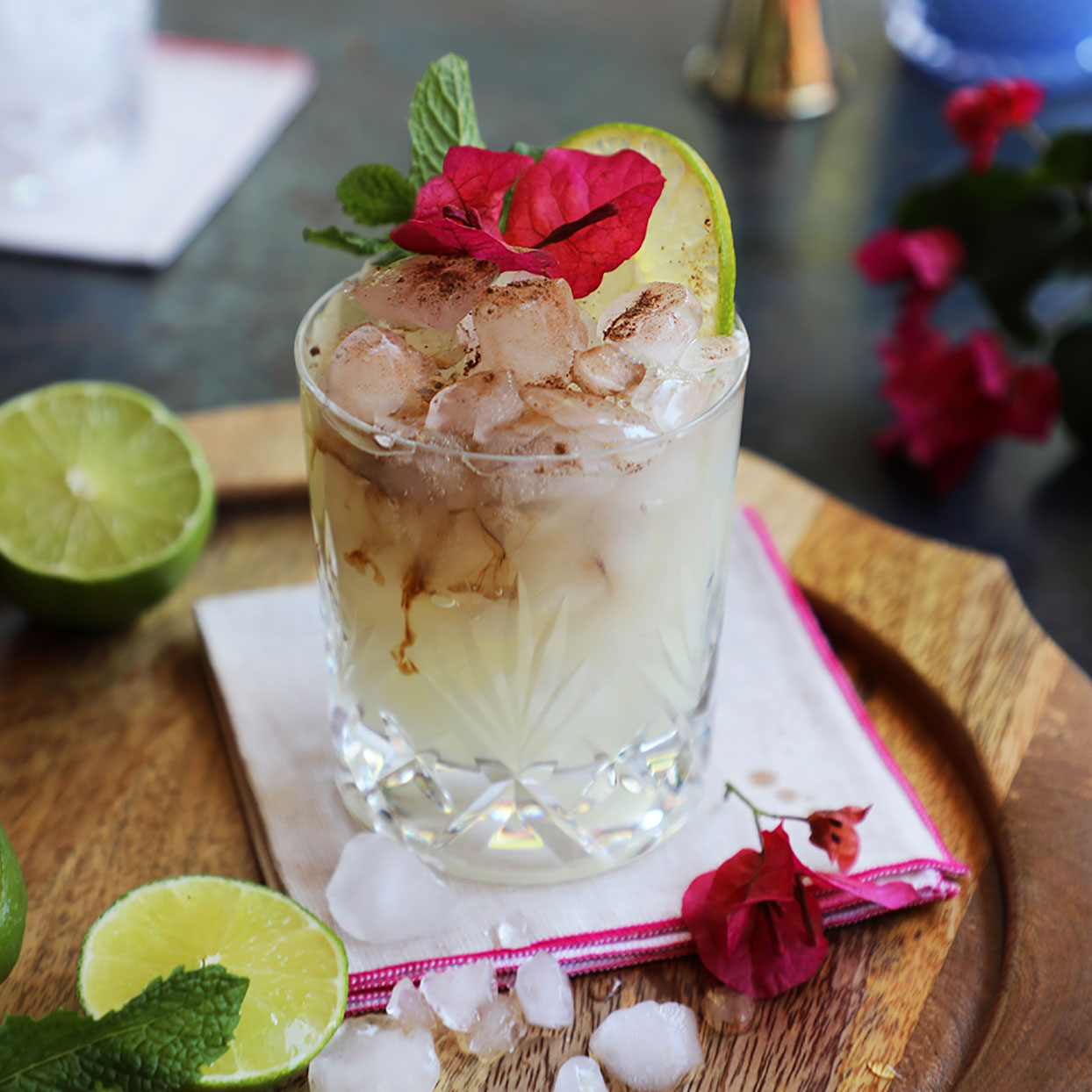A traditional mai tai is an easy-to-make cocktail made up of two kinds of rum, orange liqueur, lime juice and almond syrup. If you don't happen to have all those goodies just hanging out in your kitchen cupboards, we'll show you how to make a slight variation that is just as delicious. Source: EatingWell.com, May 2020