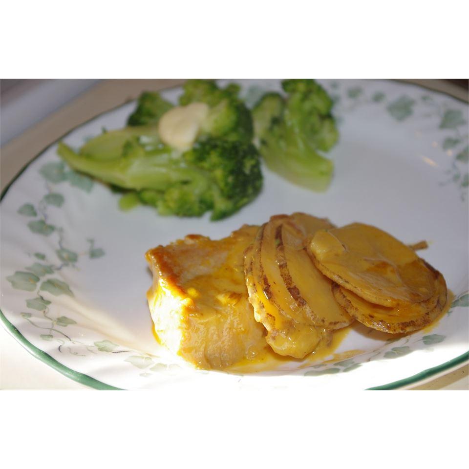 Cheesy Pork Chop Casserole Holly21602