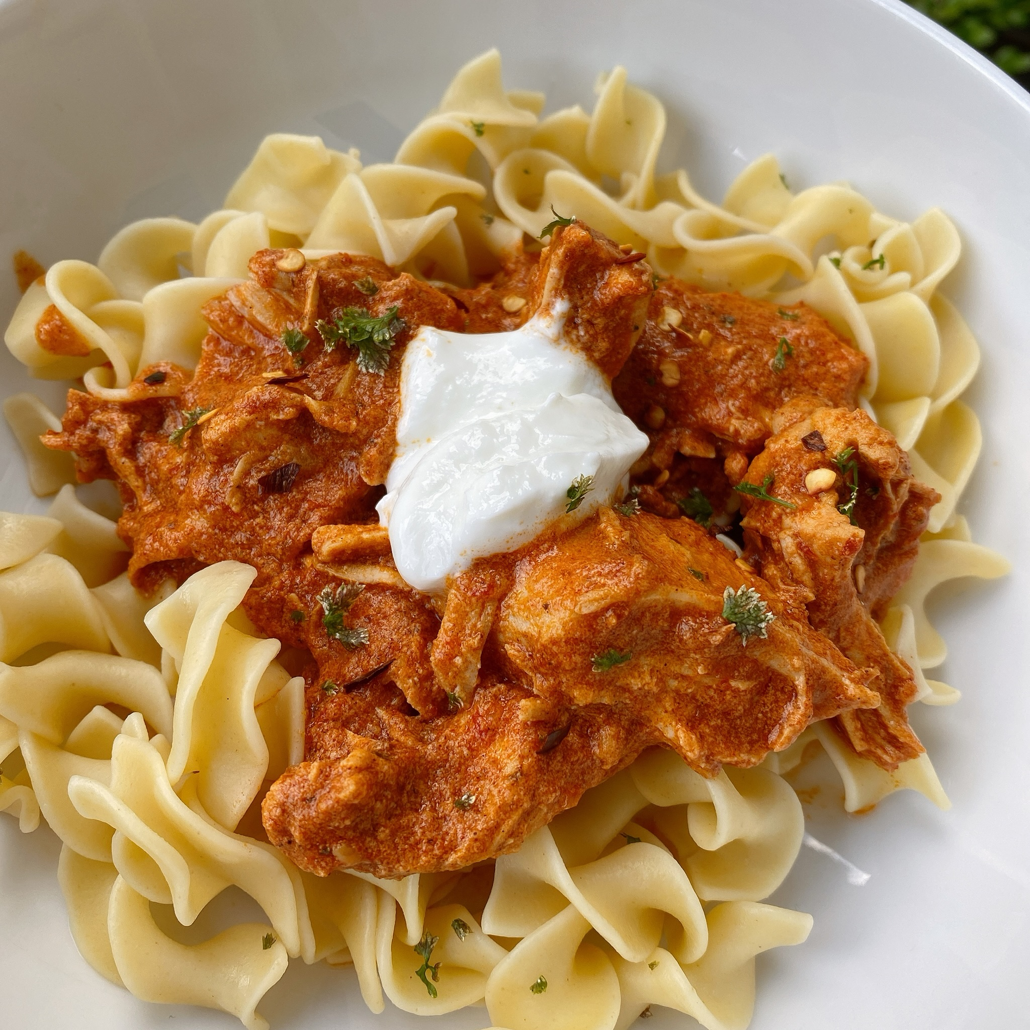 Instant Pot® Chicken Paprikash