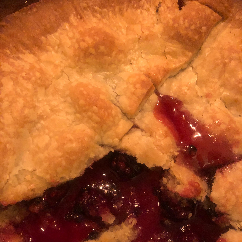 Wild Blackberry Pie GaryJYum