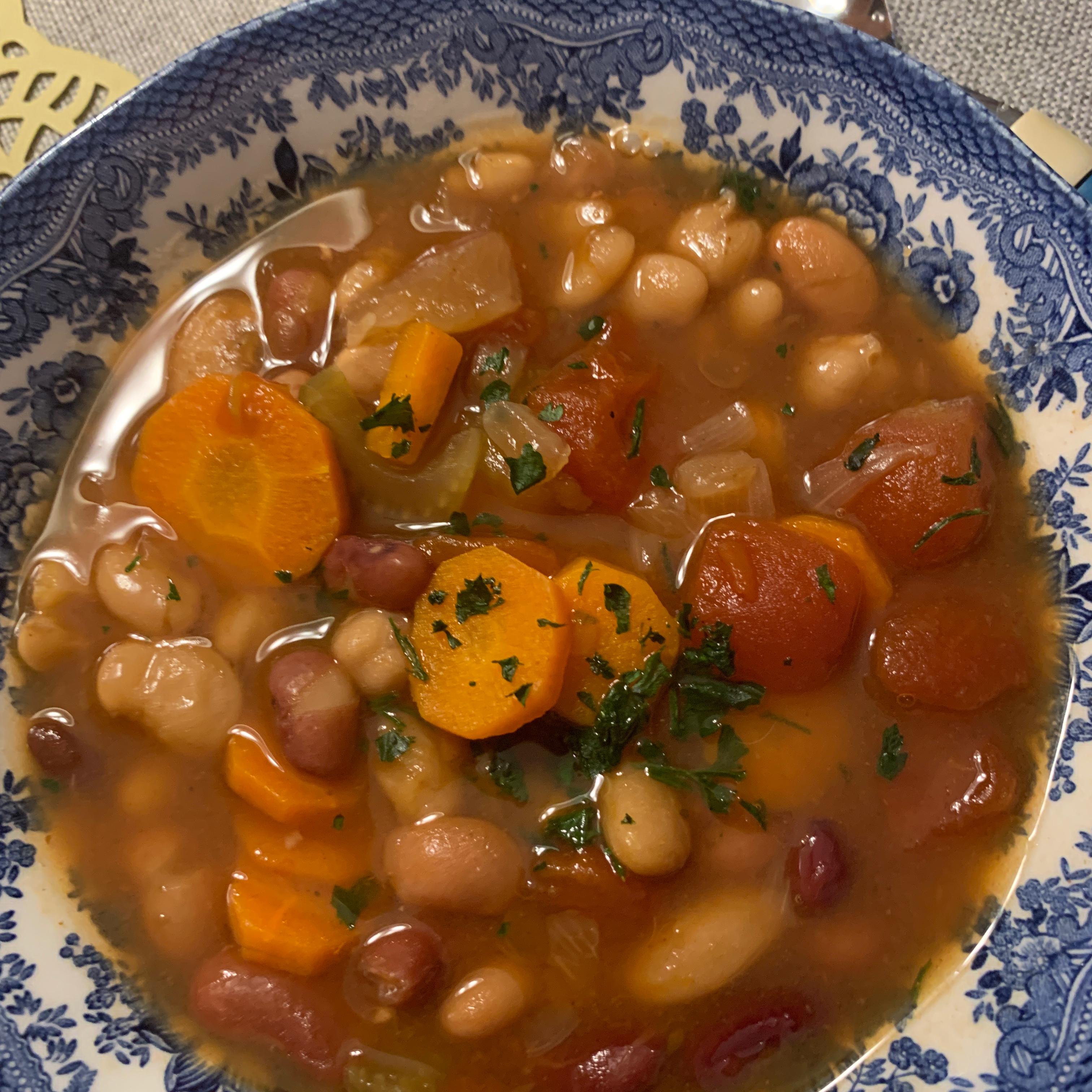 Instant Pot® Vegan 15-Bean Soup Cooking mama