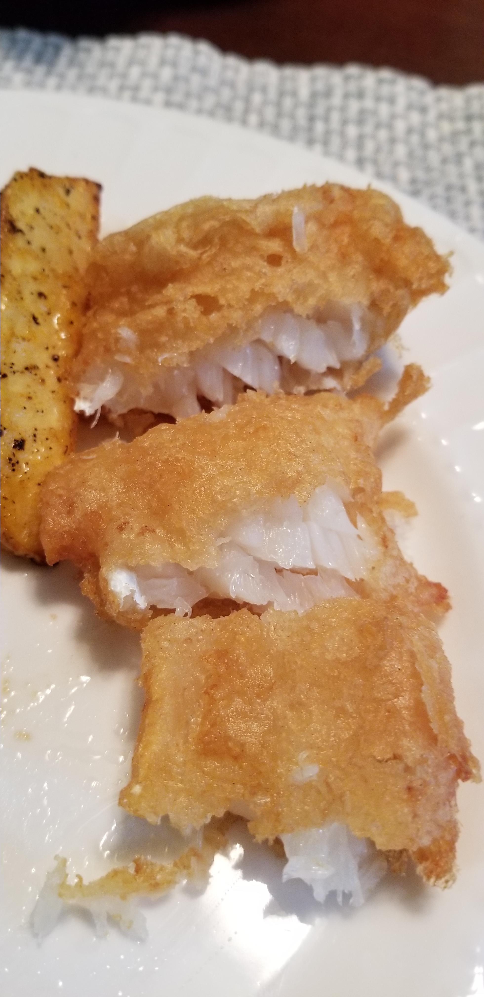 Crispy Beer Batter Fish & Chips