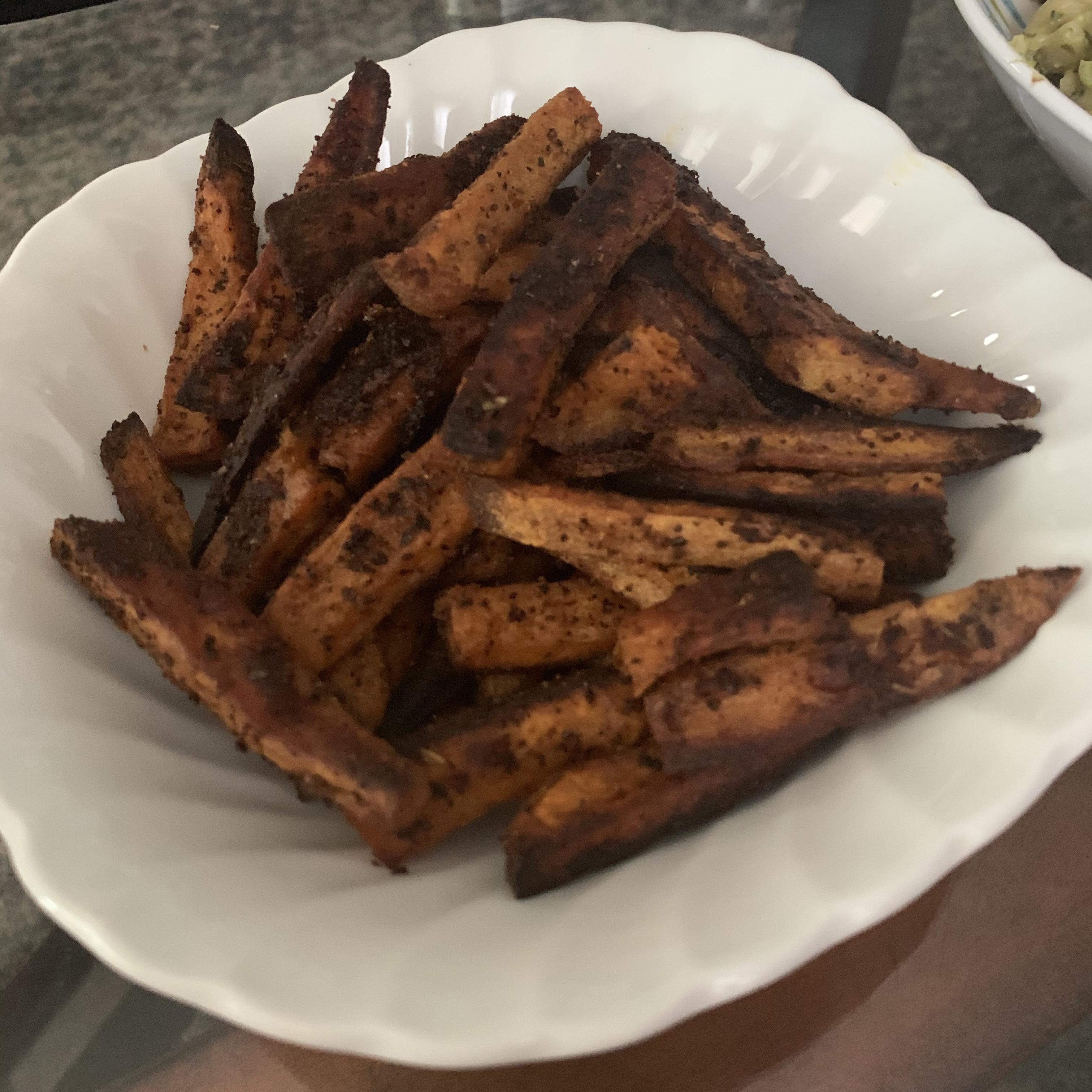 Cajun Sweet Potato Fries Christina Anthony