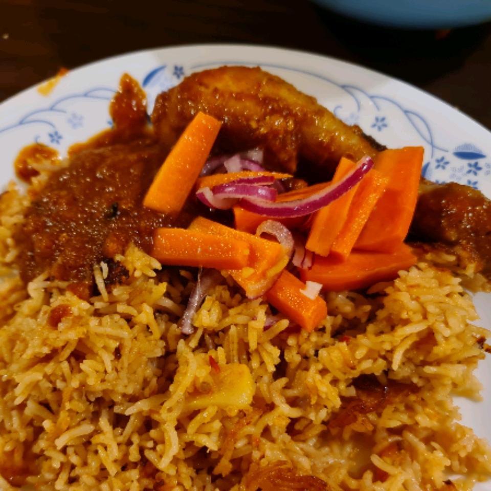 Spicy Tomato Chicken (Ayam Masak Merah) rozaini kamal