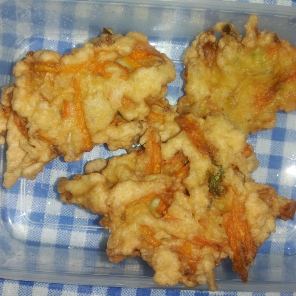 Carrot Fritters Charity Kachule