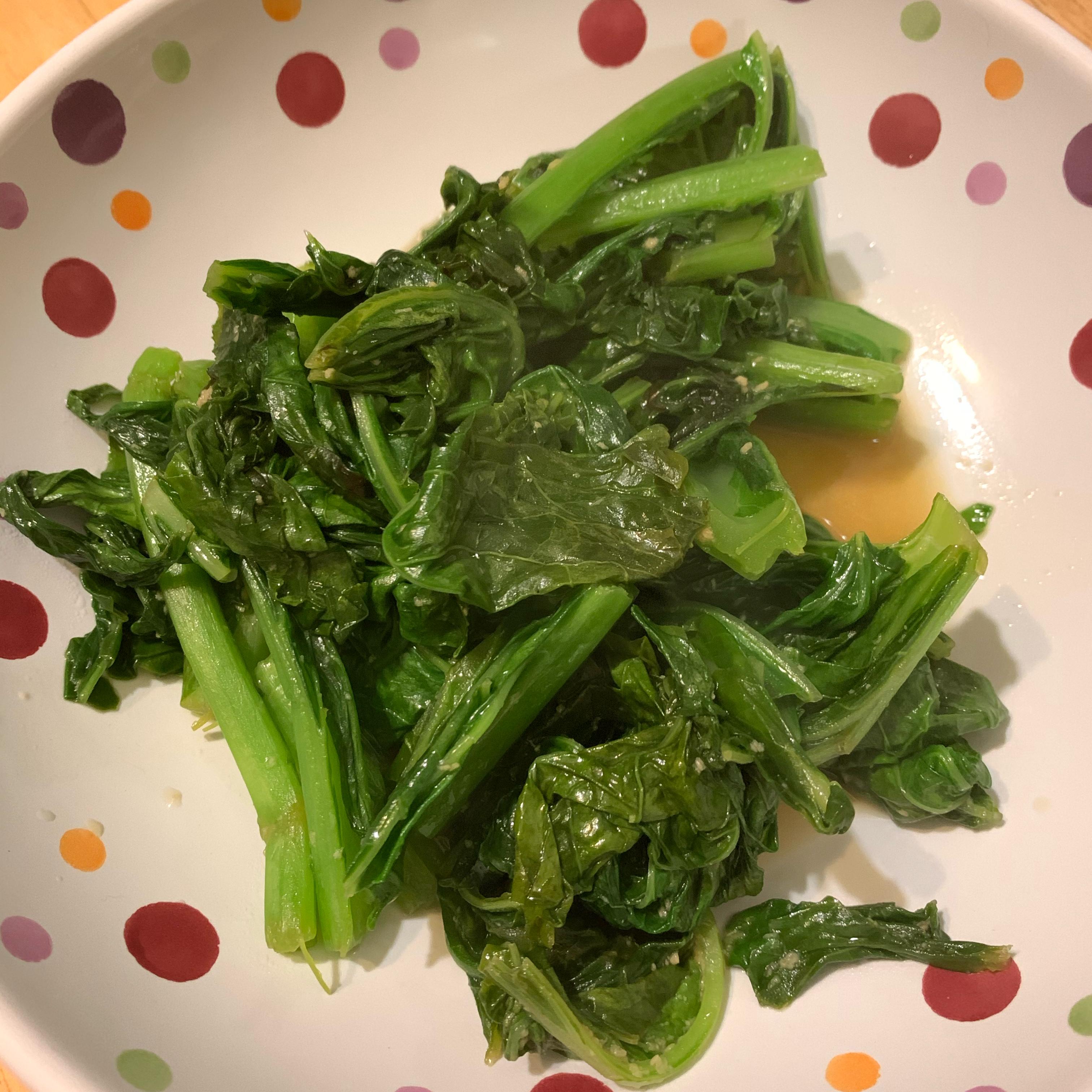 Asian-Inspired Mustard Greens Victoria Meline