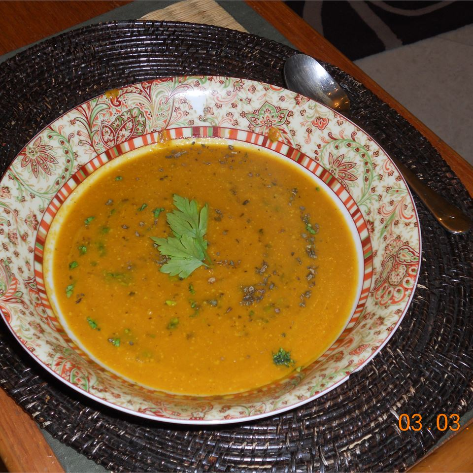 Vegan Carrot Curry Soup Yobachus