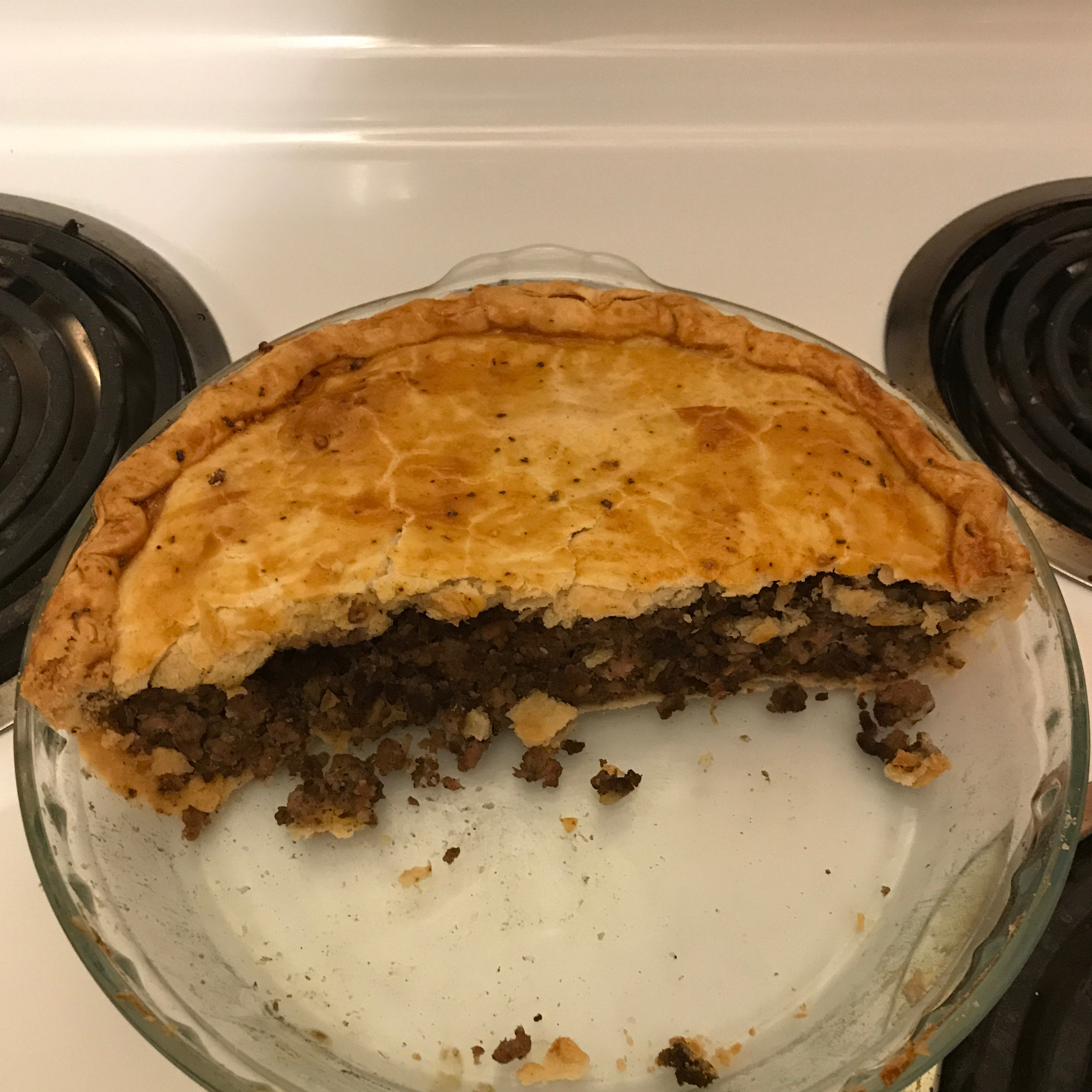 Tourtiere (French Canadian Meat Pie) Krashley