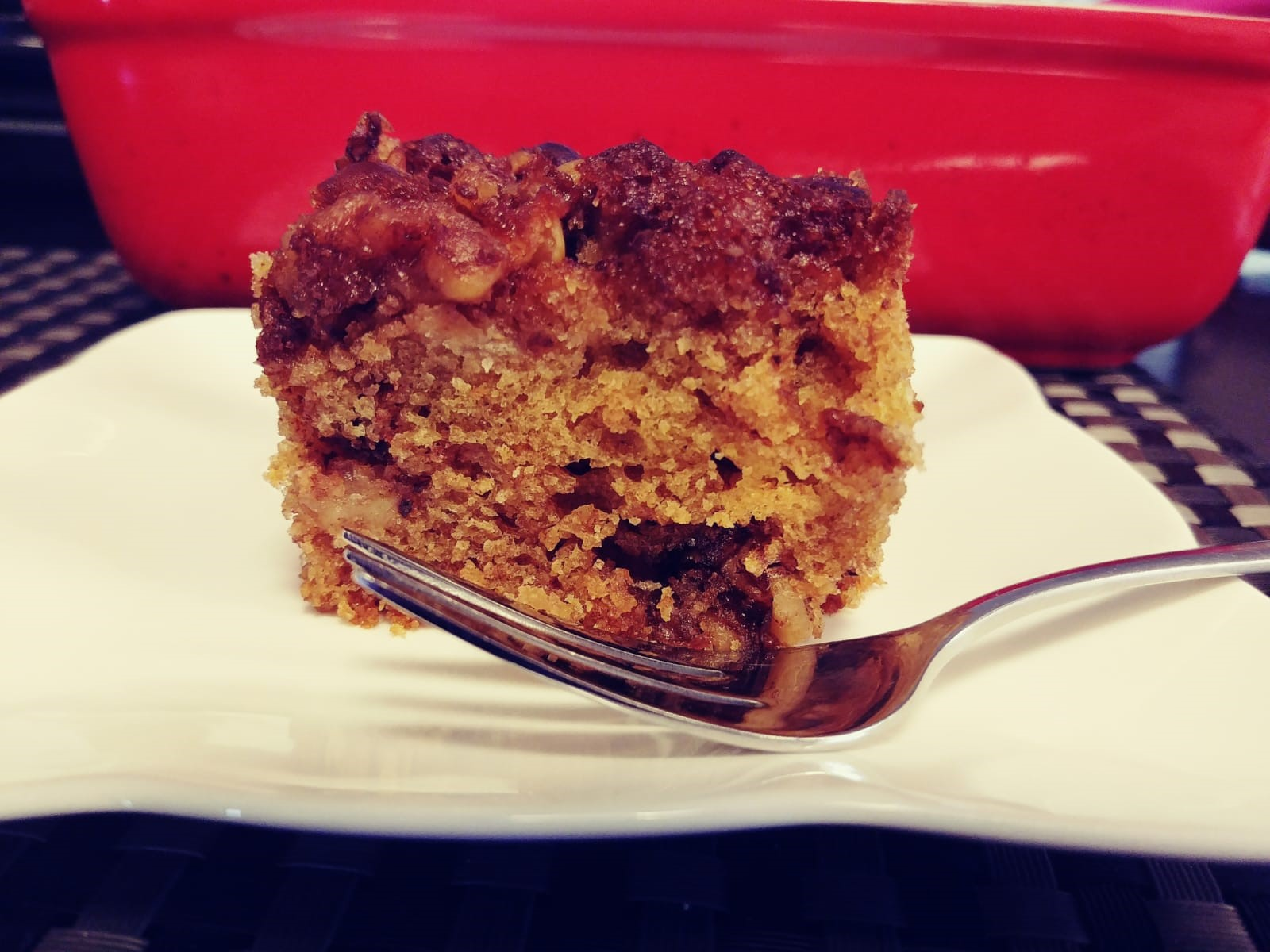 Apple Crumble Coffee Cake