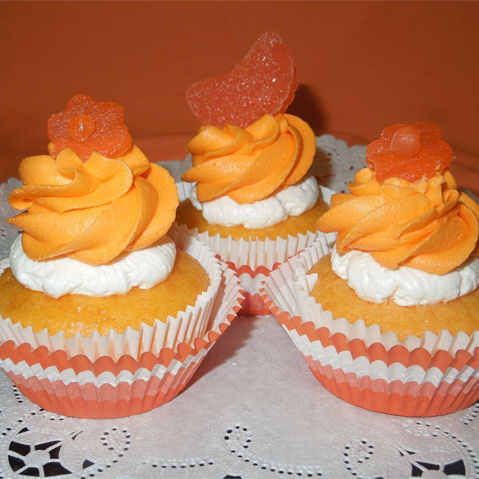 Dreamy Orange Cupcakes
