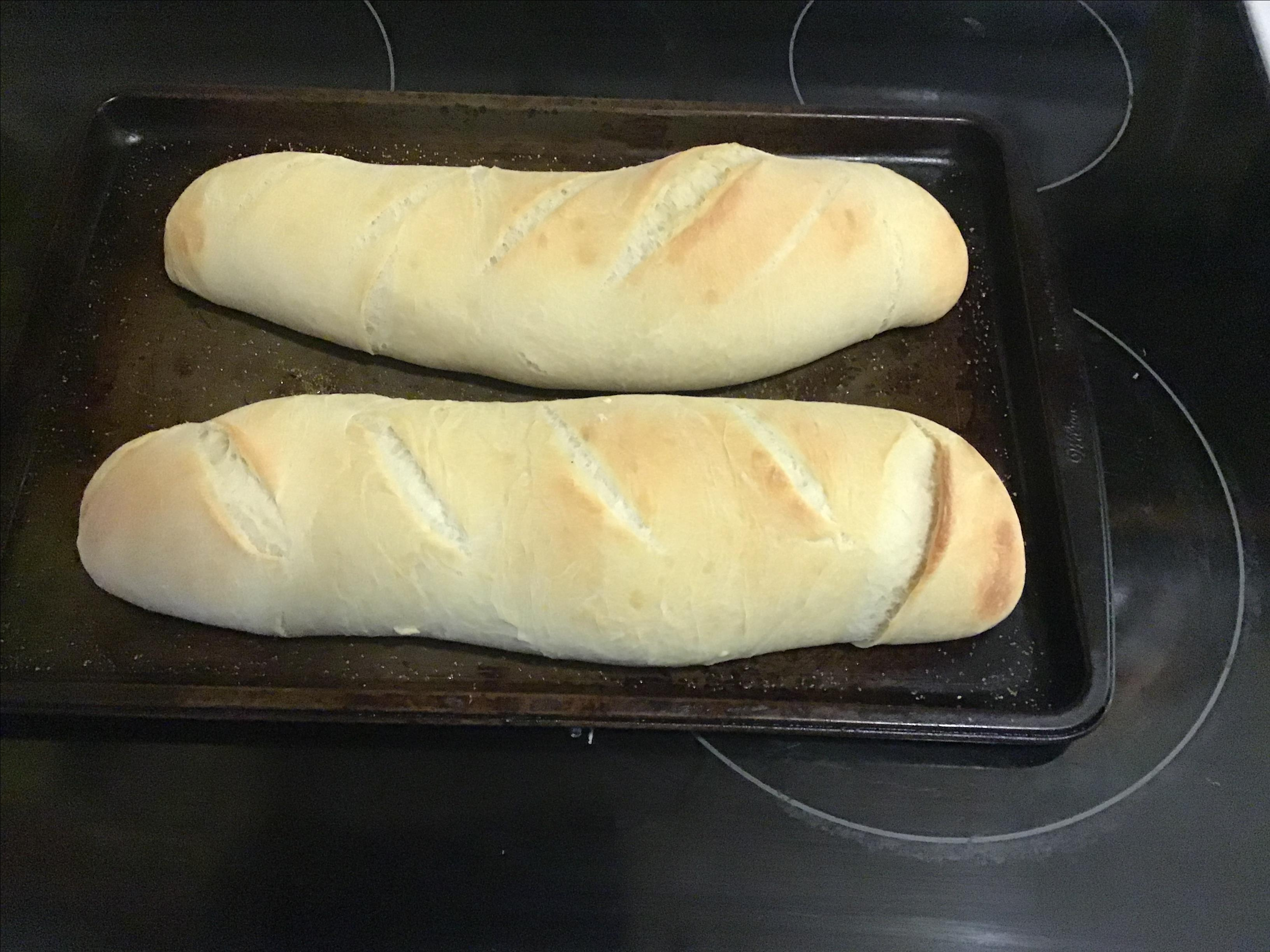 Chewy French Baguette mike