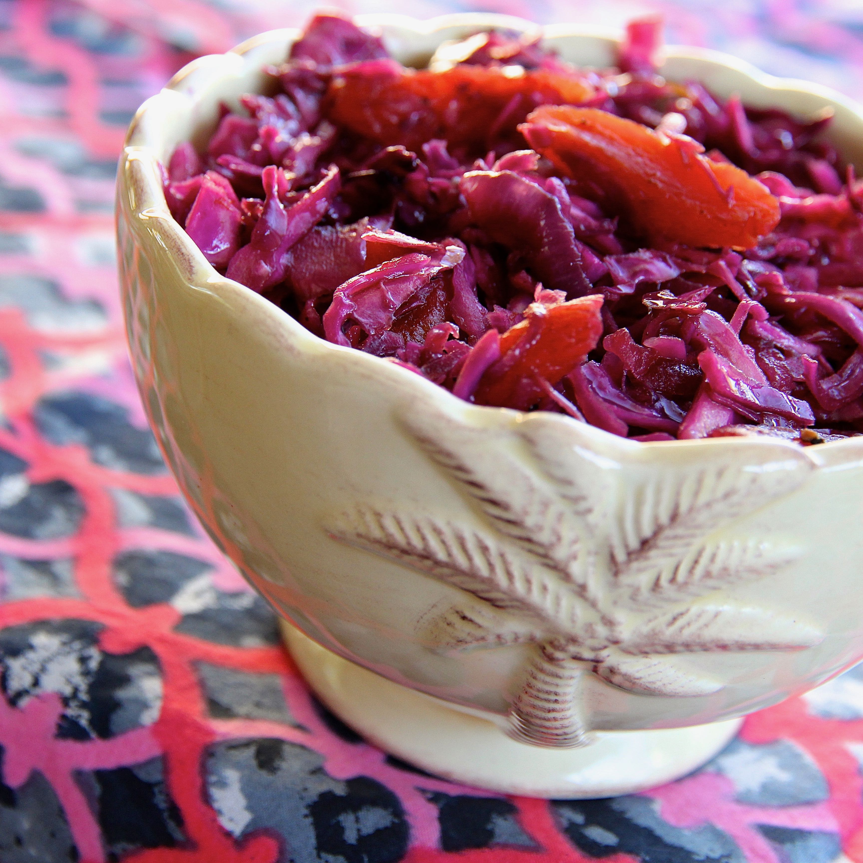 Red Cabbage With Apricots And Balsamic Vinegar JOE PASQUALE
