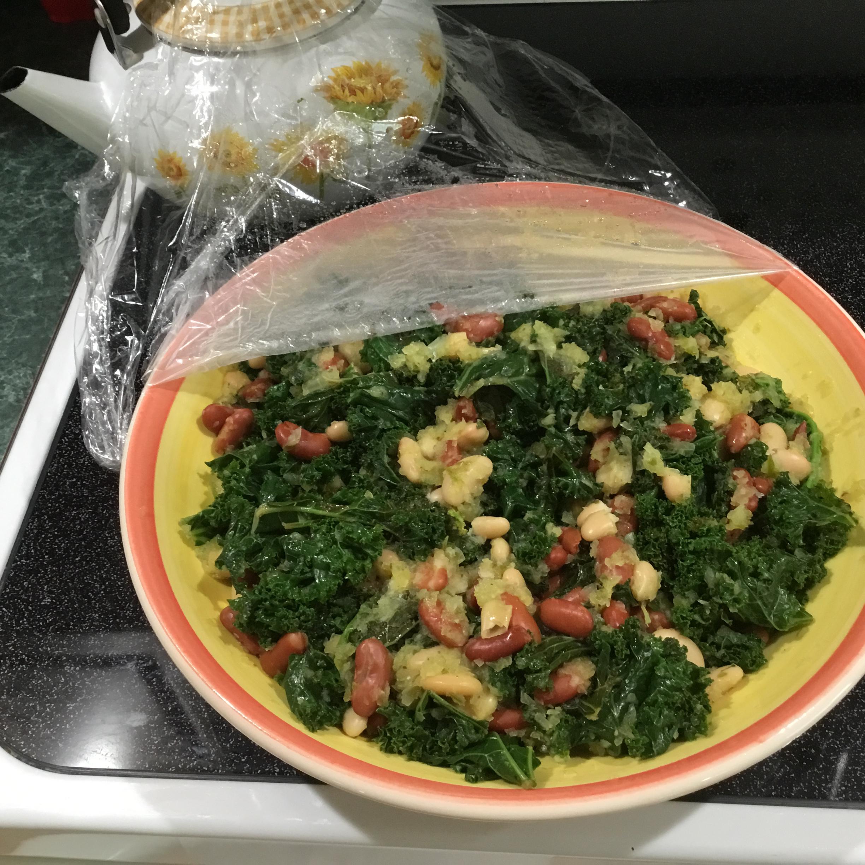 Vegan Chickpeas with Kale and Cilantro-Lime Marskall01