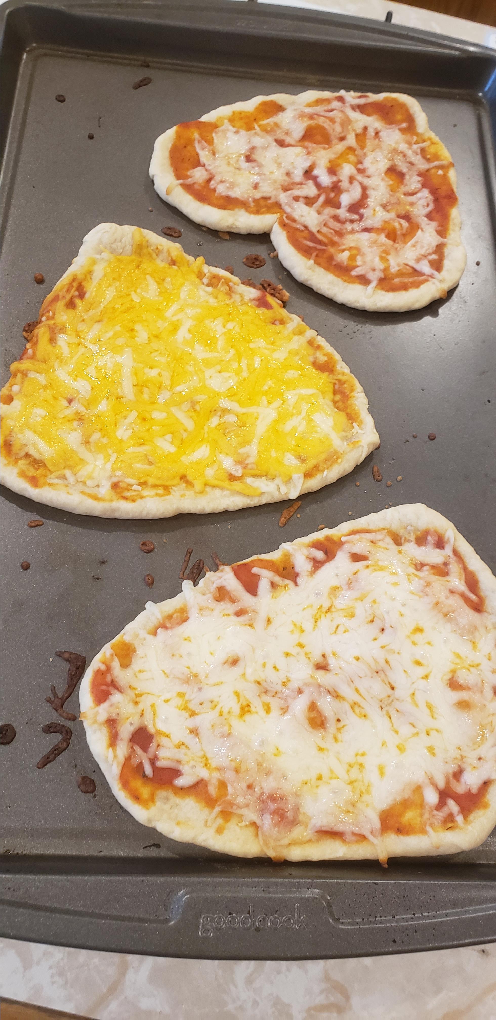 Sourdough Pizza Crust Dough Tran Steel