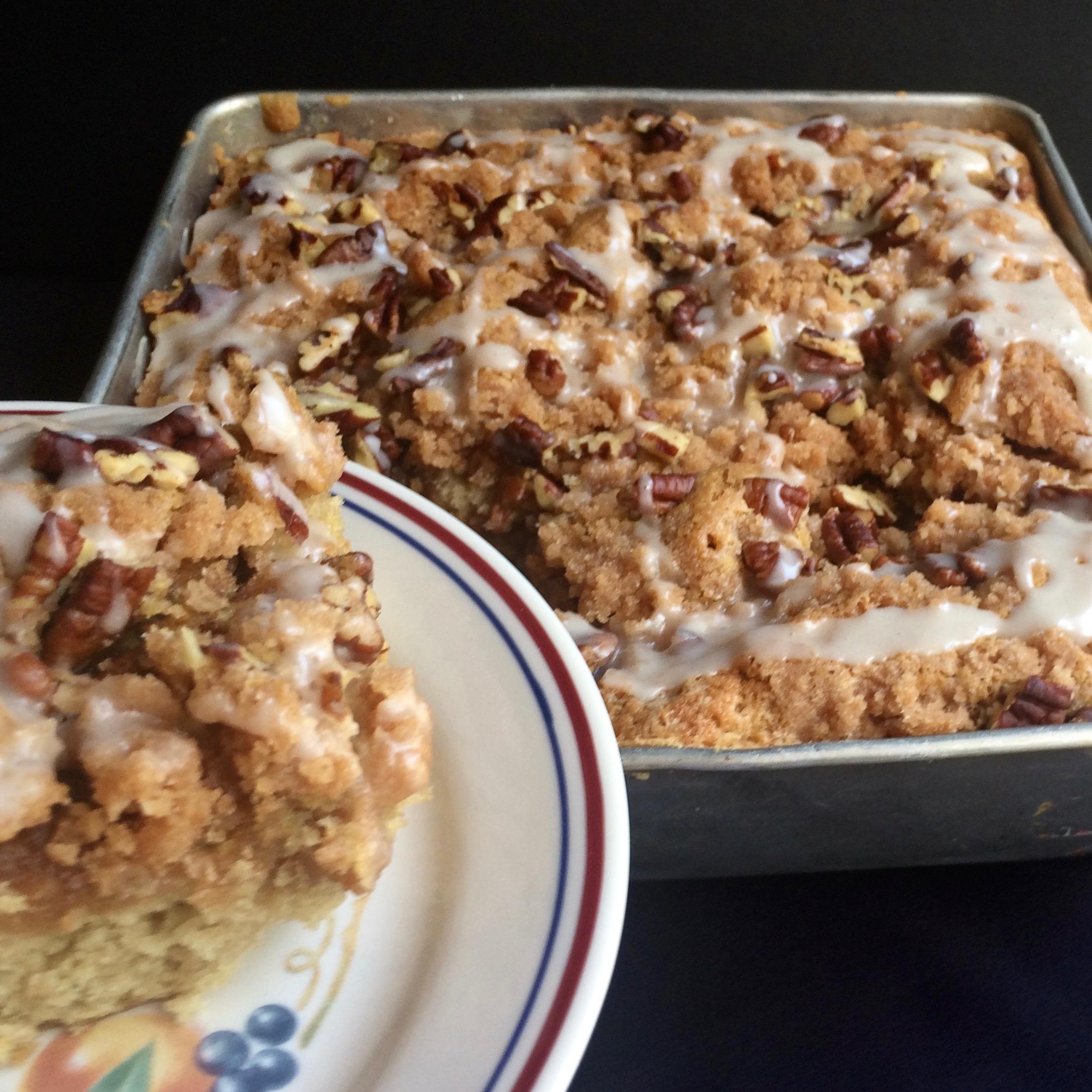 Sourdough Pecan Coffee Cake