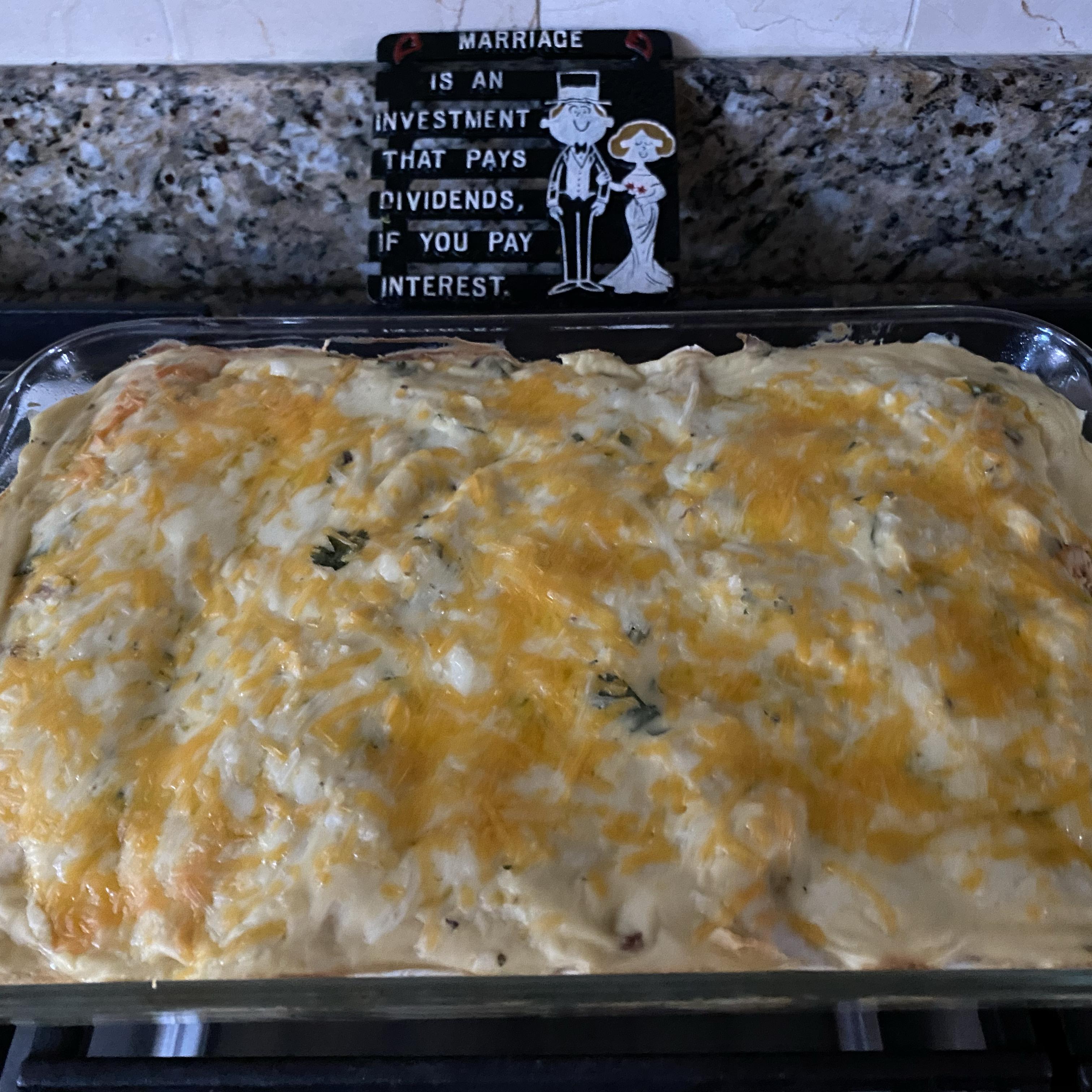Low-Fat Sour Cream Chicken Enchiladas Tink912