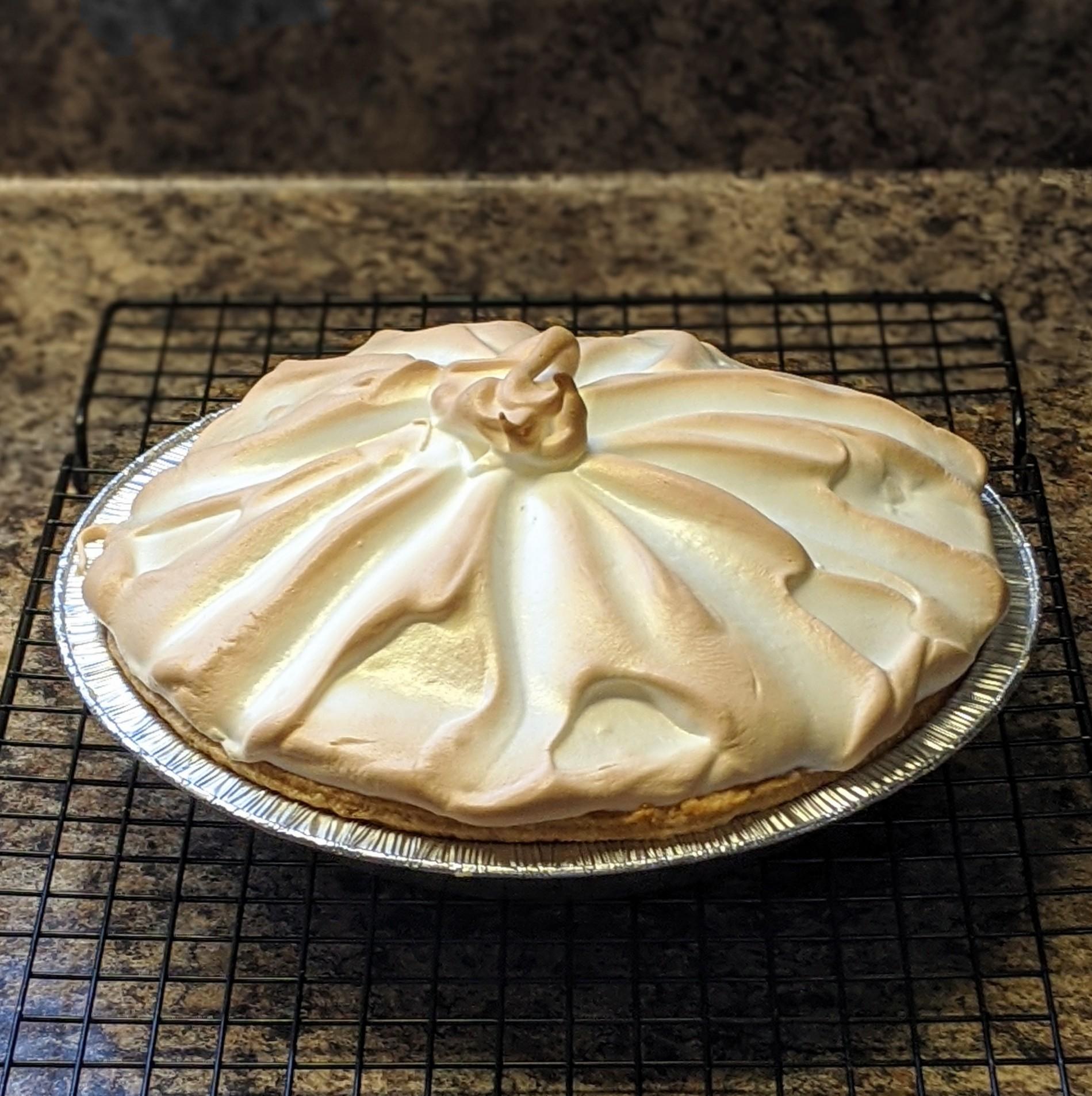 Butterscotch Pie I Kellie G