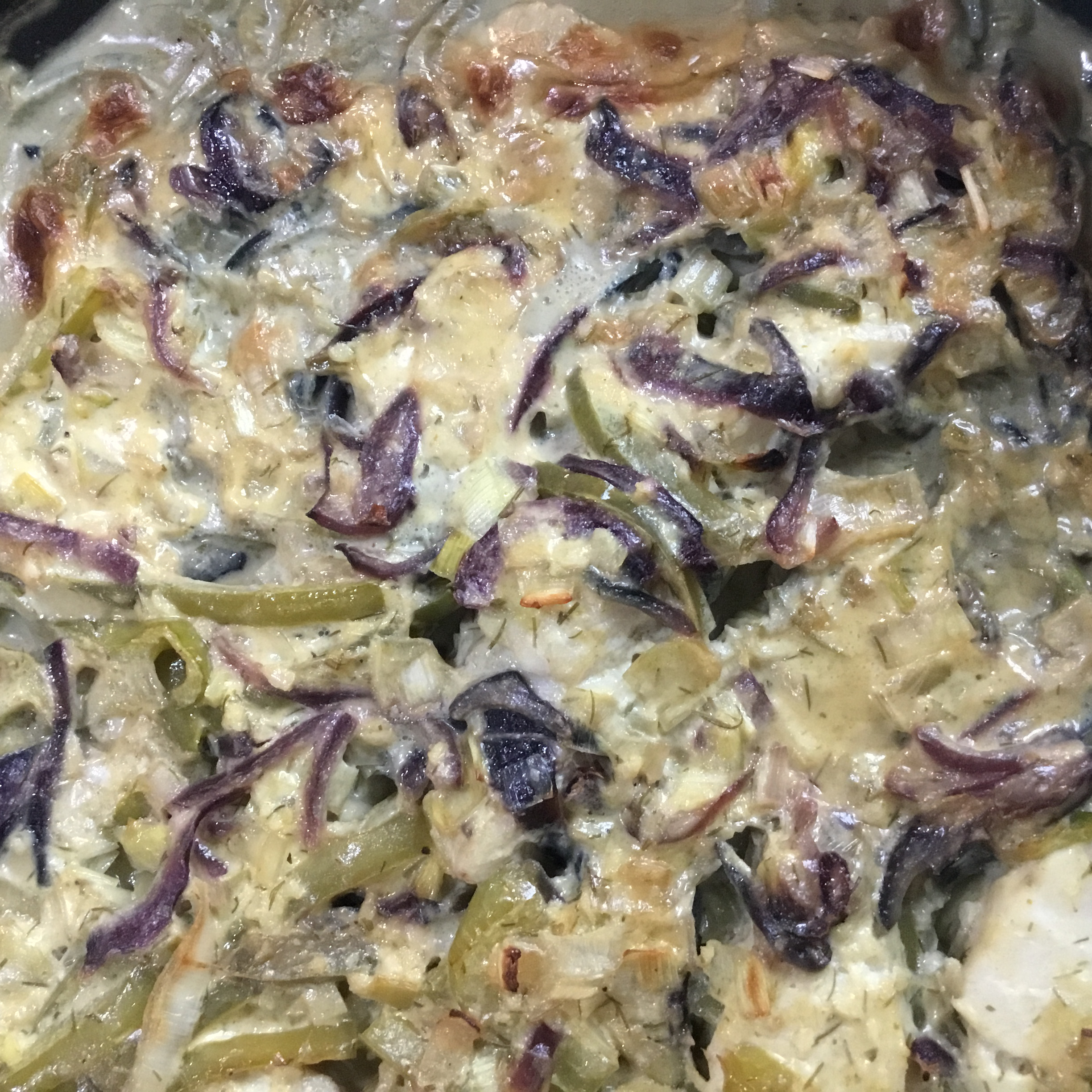 Green Curry Cod