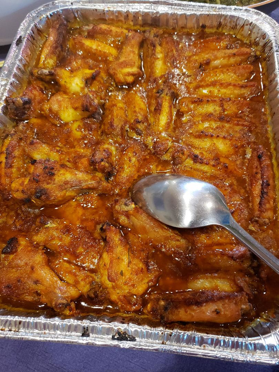 Mom's Baked Chicken Wings