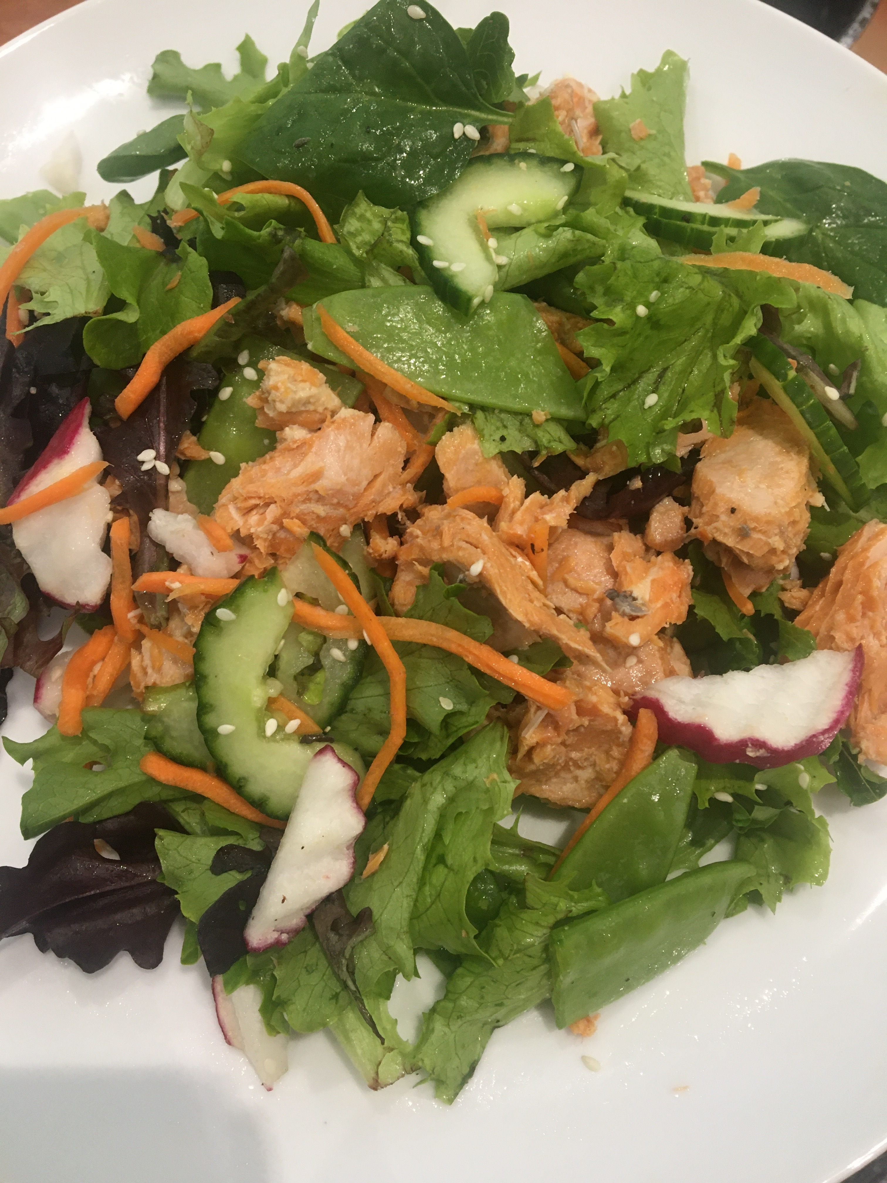 Asian Salmon Salad Kevin Marshall