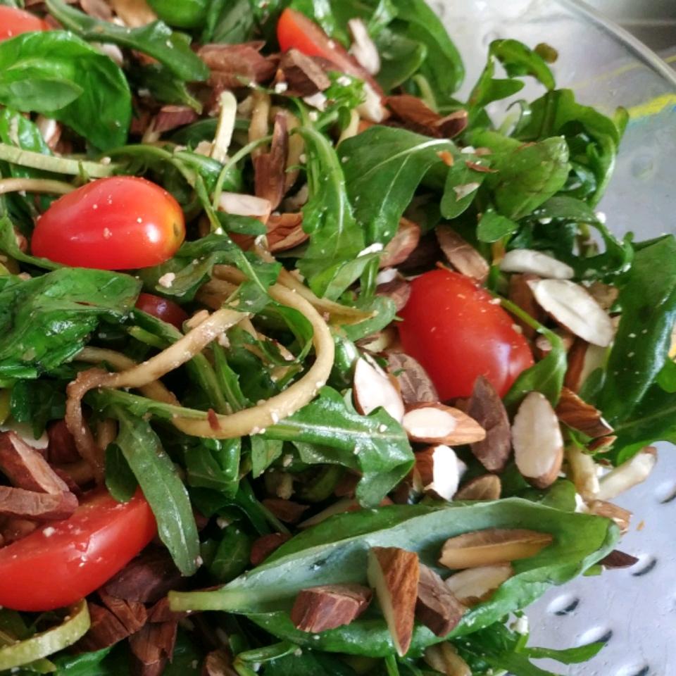 Zoodle Caprese Salad Comapon Trani Ivy