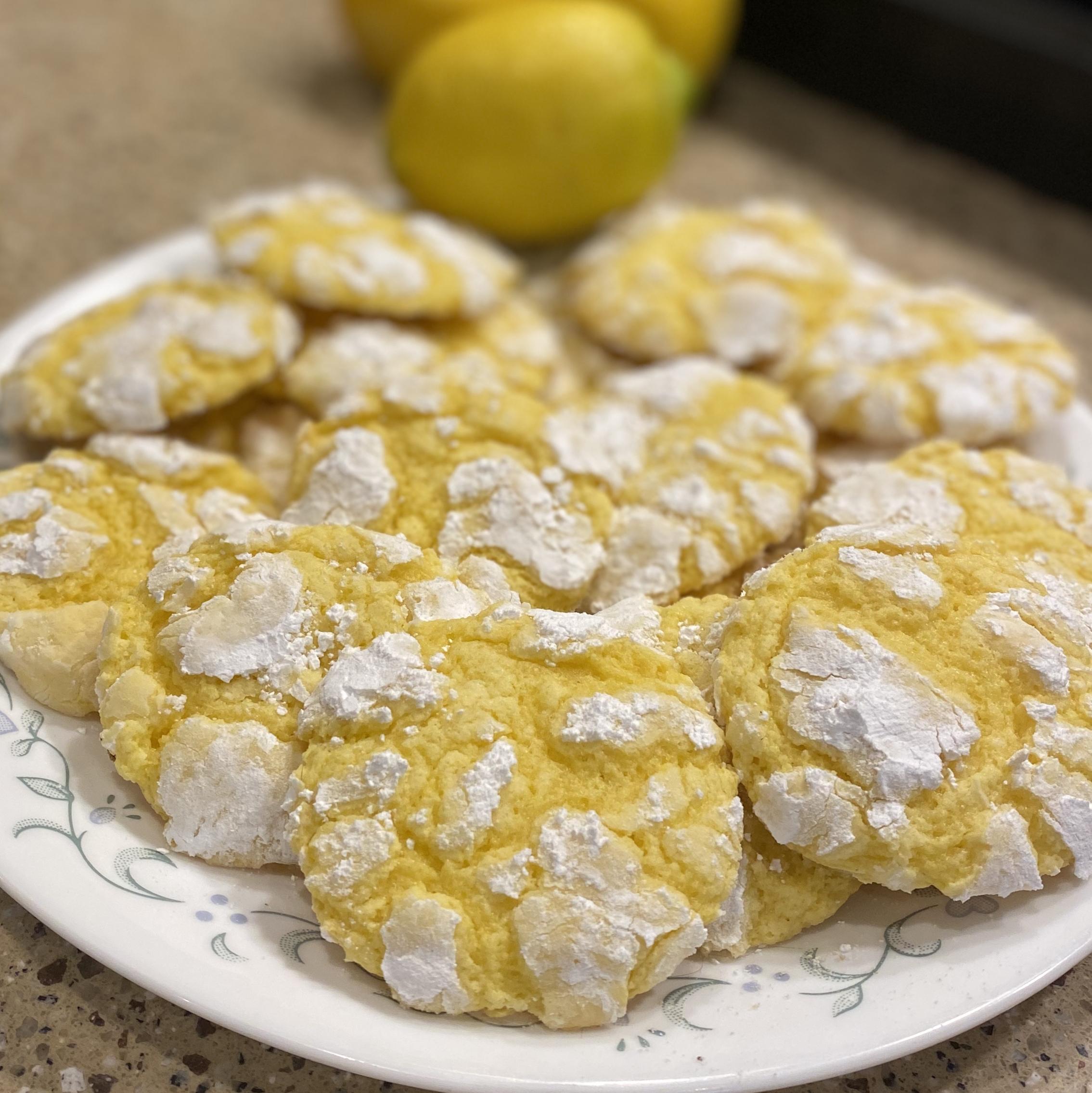 Easy Lemon Cookies Julie Henricksen