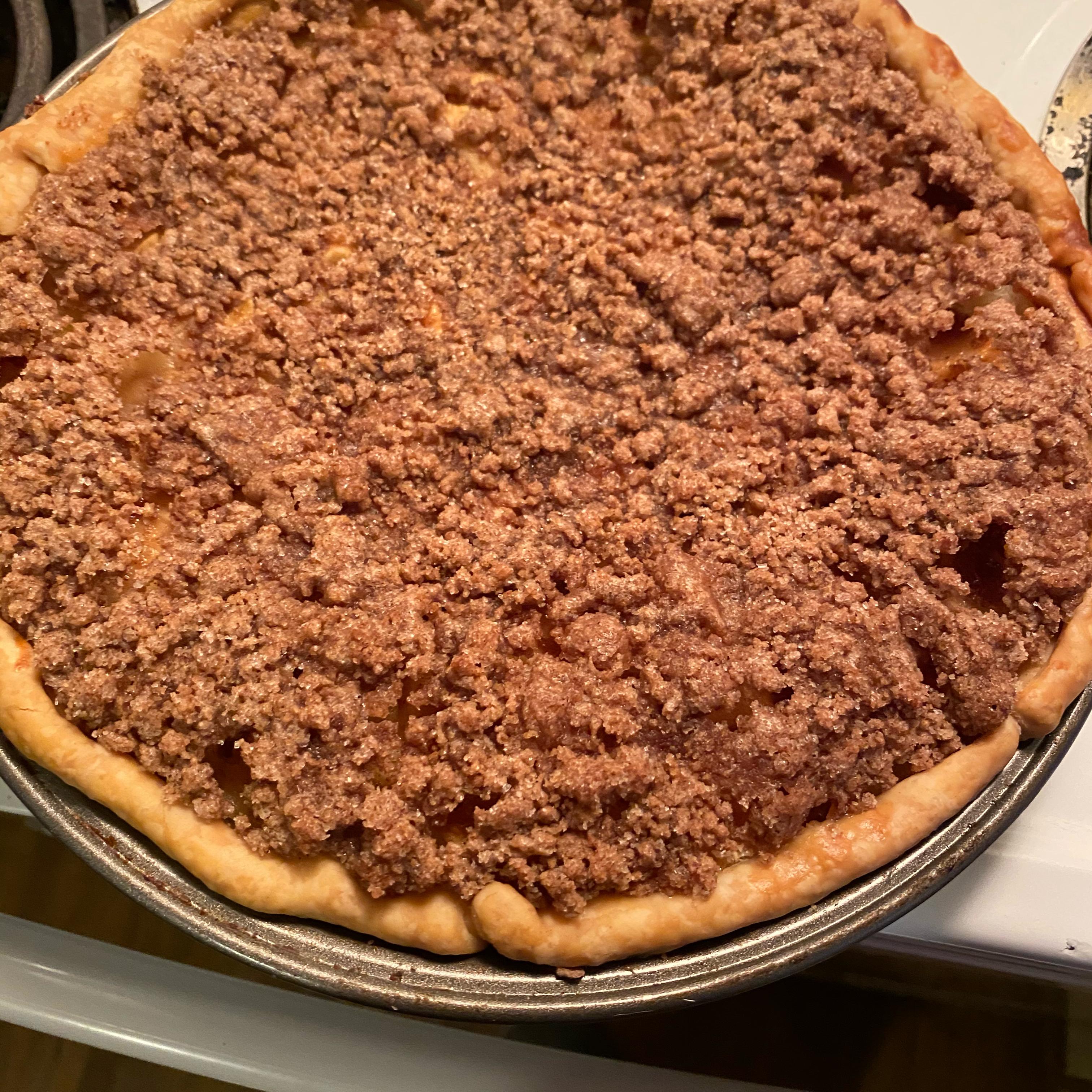 Sour Cream Apple Pie I