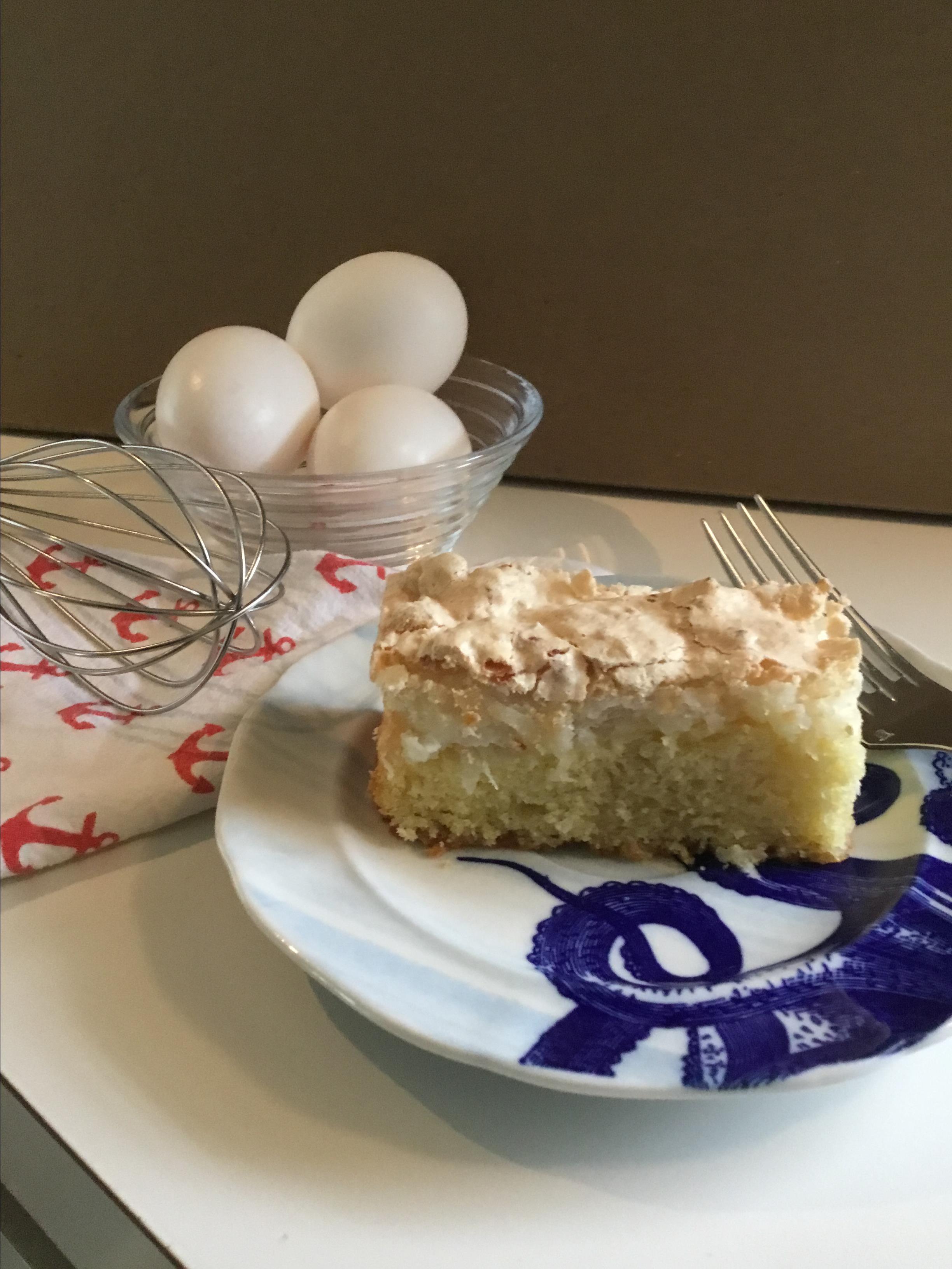 Coconut Meringue Cake Rob