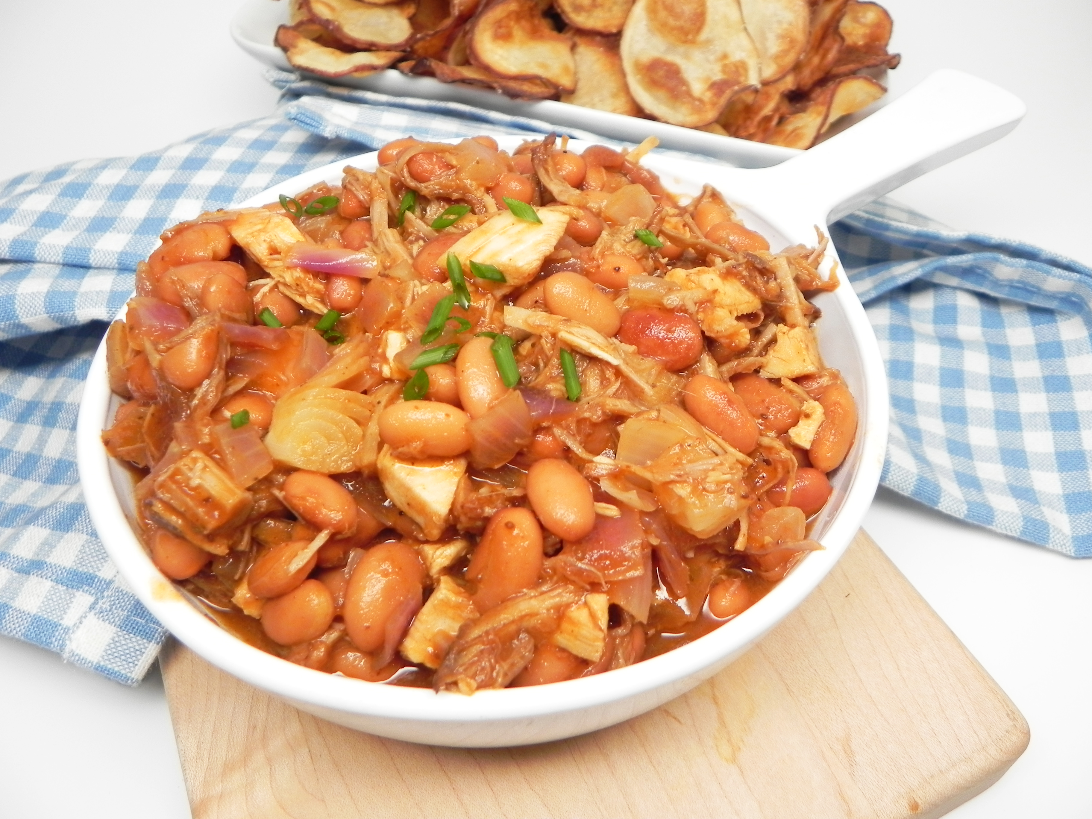 Instant Pot® Pulled Pork and Beans
