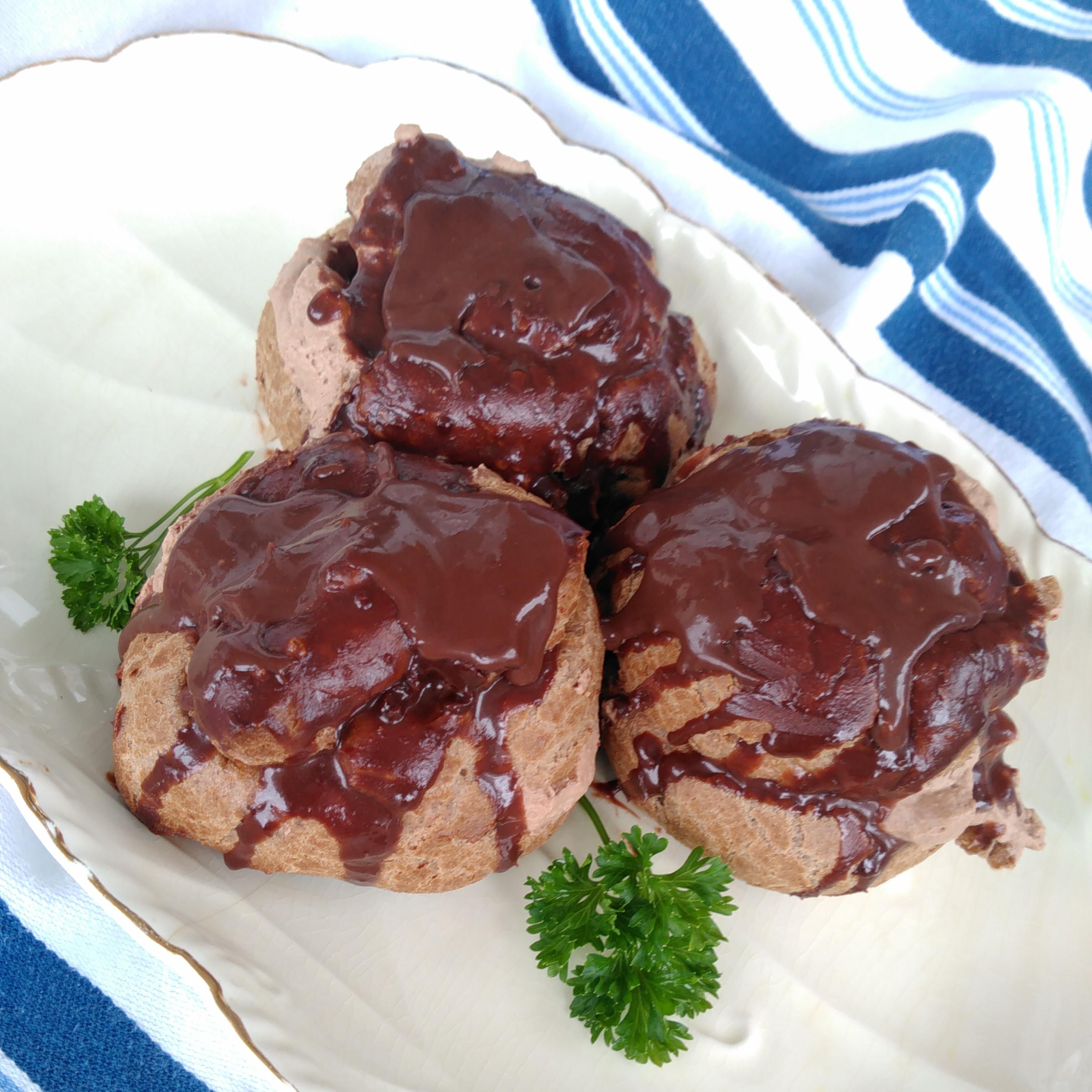 Chocolate Cream Puffs