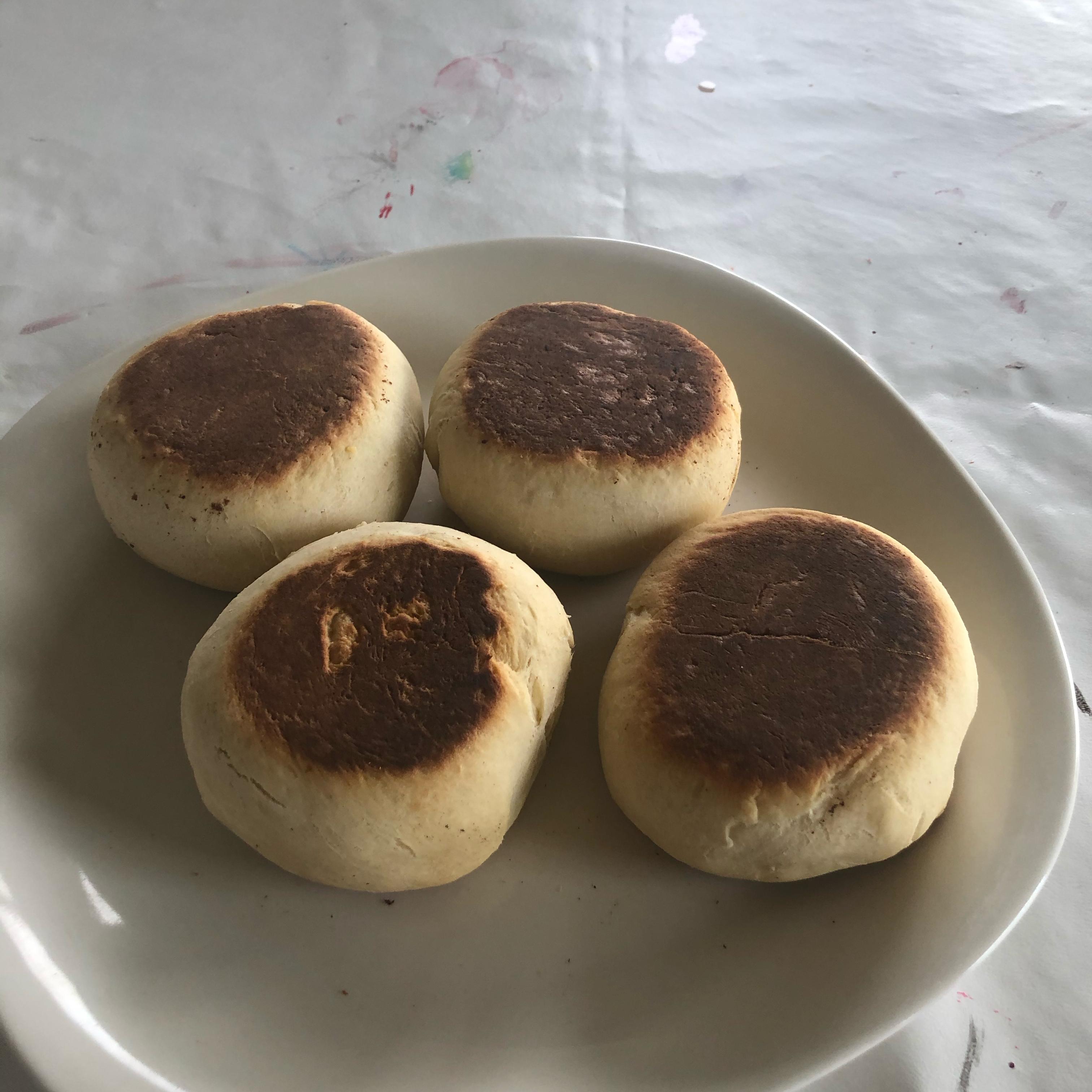 Portuguese Muffins - Bolo Levedo DrMom