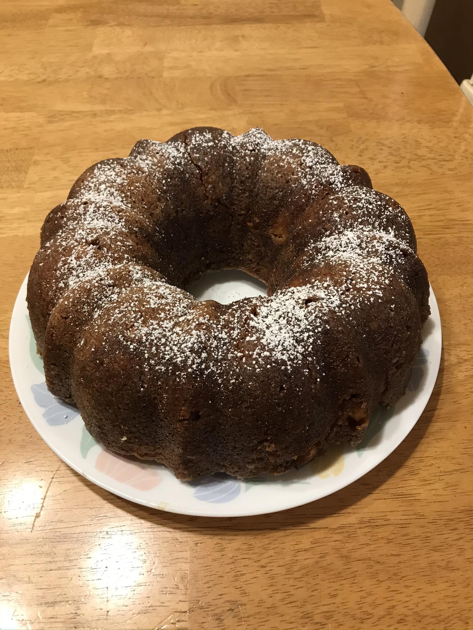 Old Fashioned Apple Cake Sharon Bruckerhoff