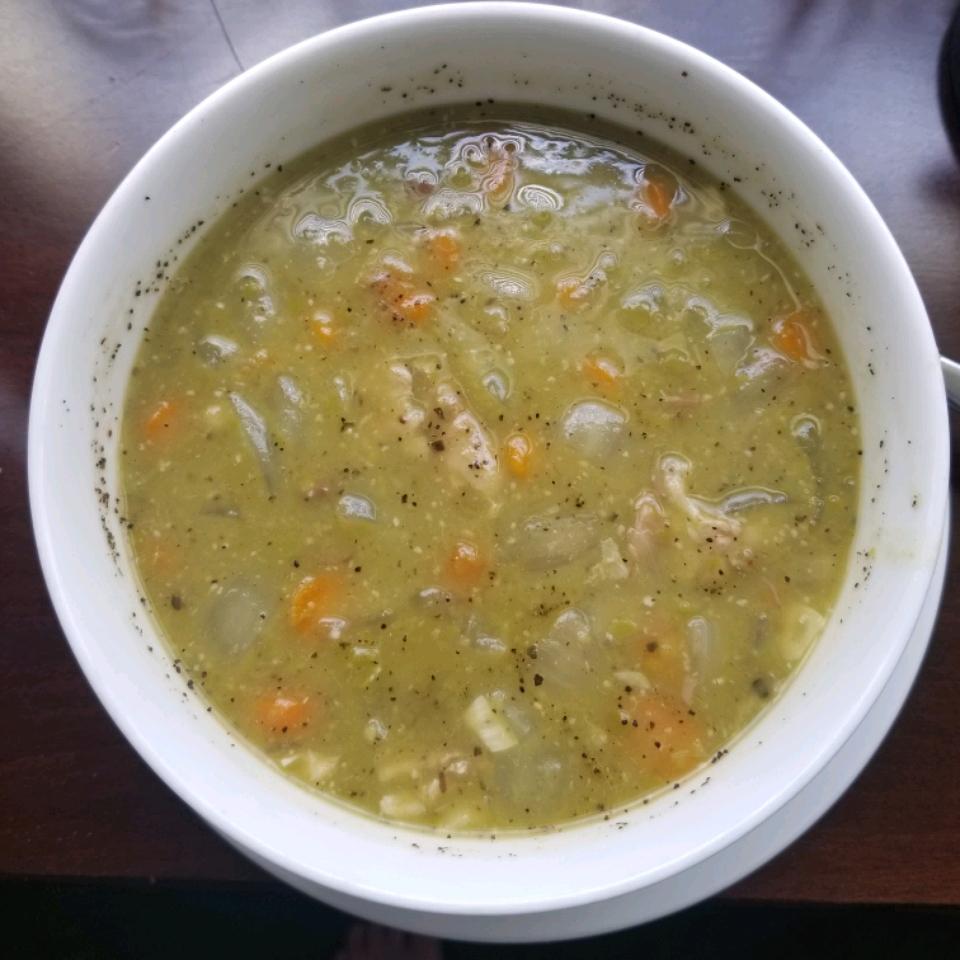 Split Pea Soup with Ham Willy Wonka