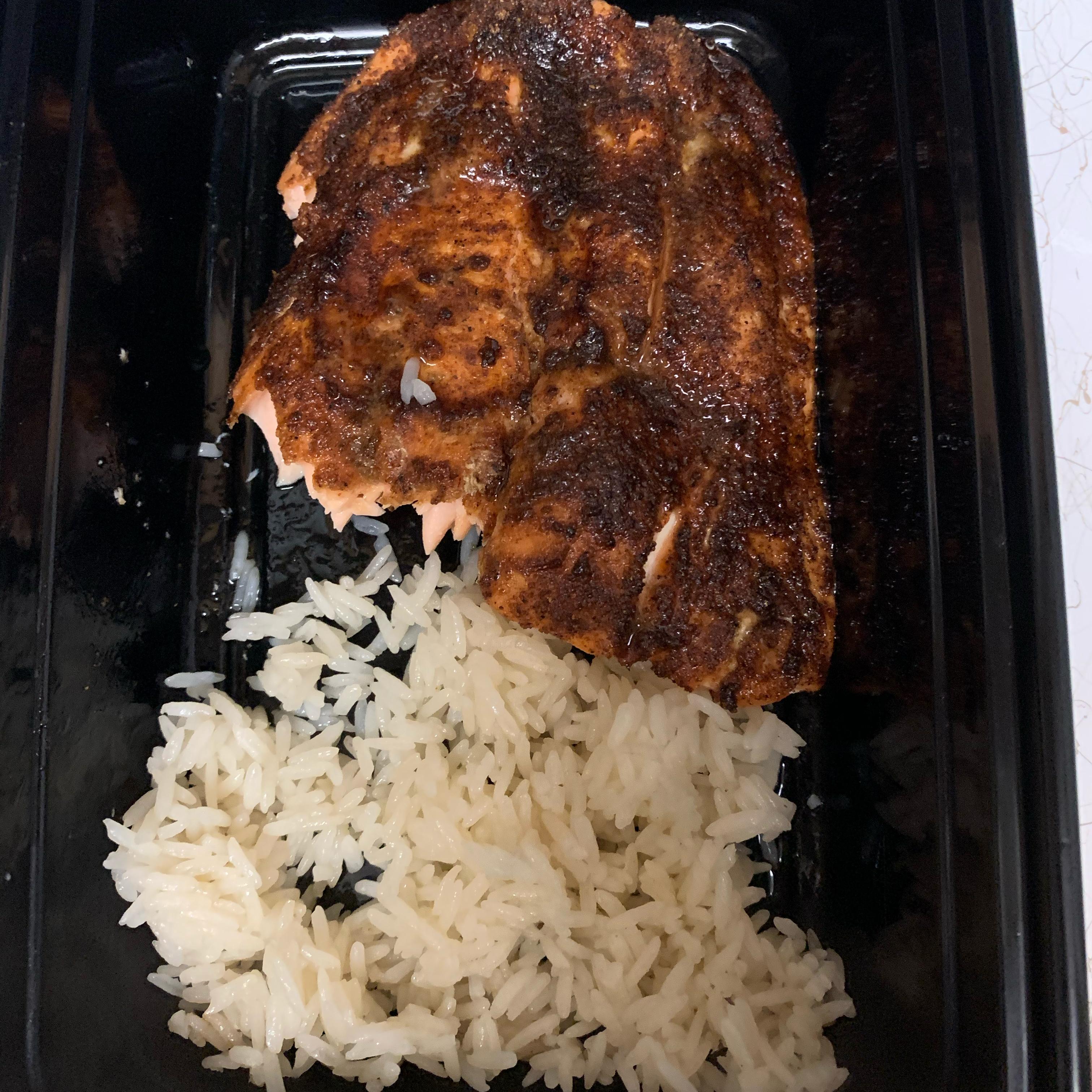 Cajun Air Fryer Salmon chell