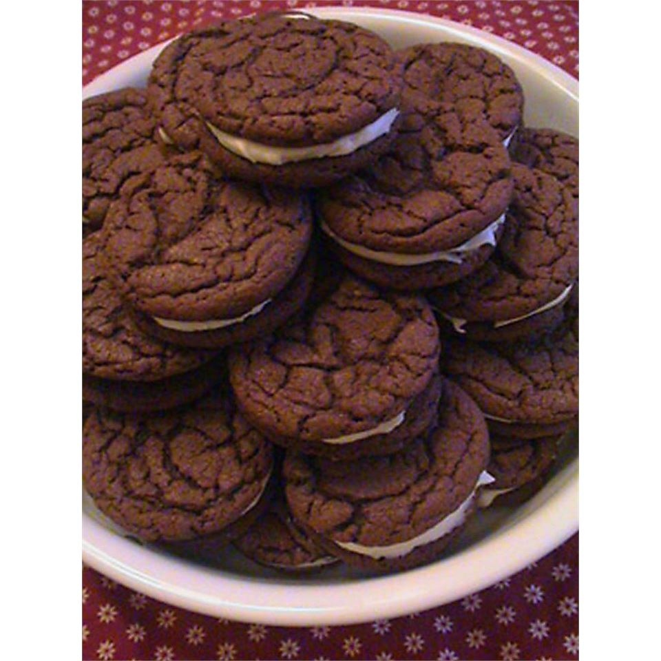 Homemade Chocolate Sandwich Cookies PattyJoy