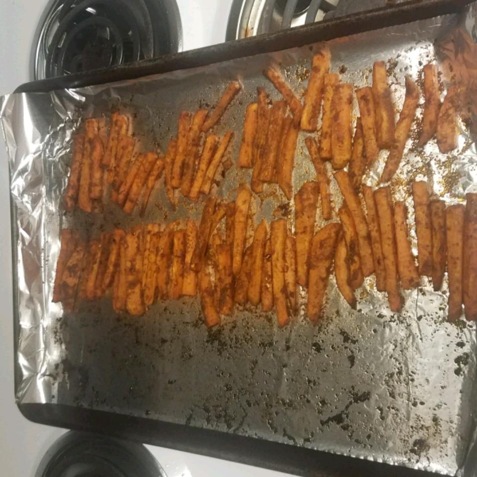 Cajun Sweet Potato Fries Chris Houk