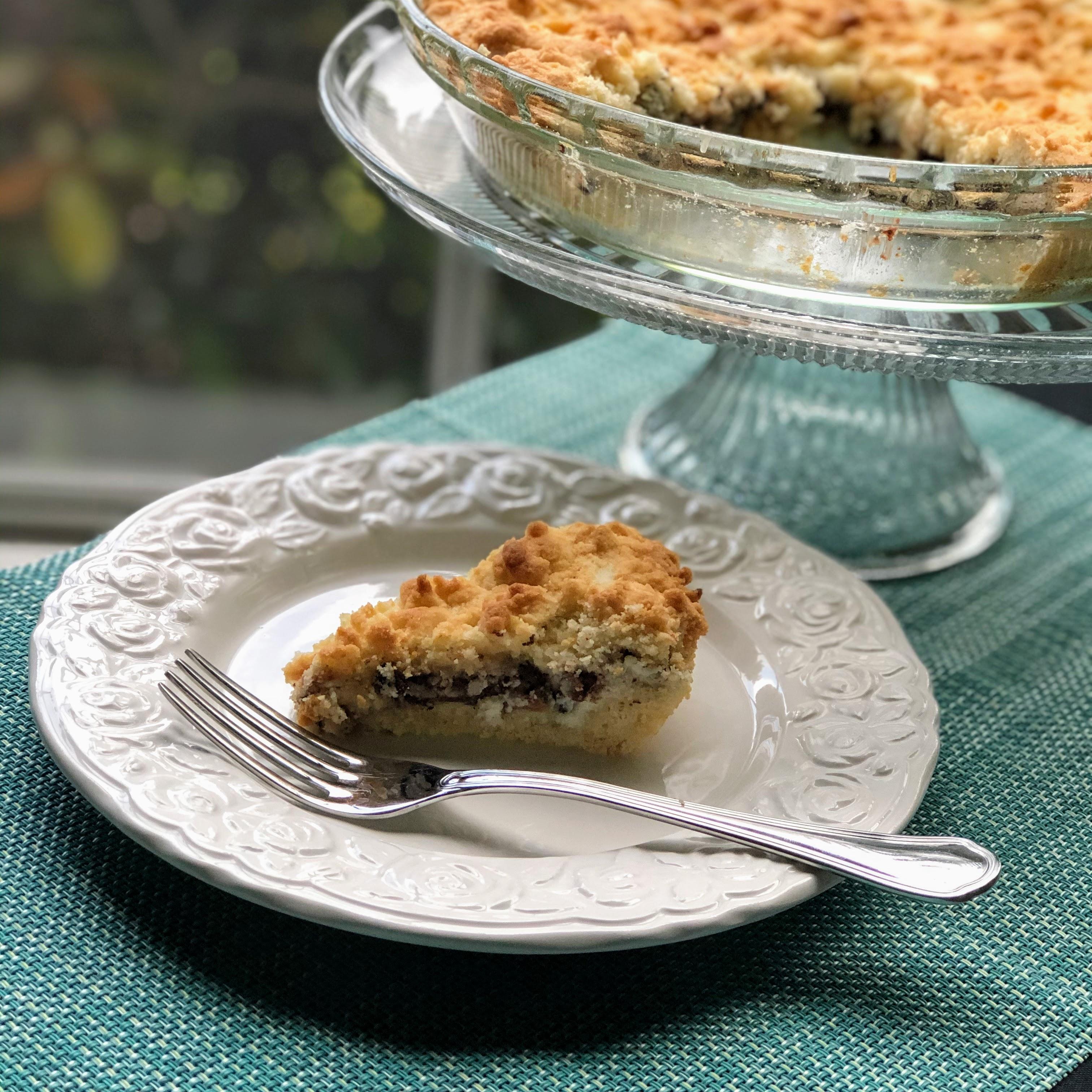 Cannoli Crumb Pie