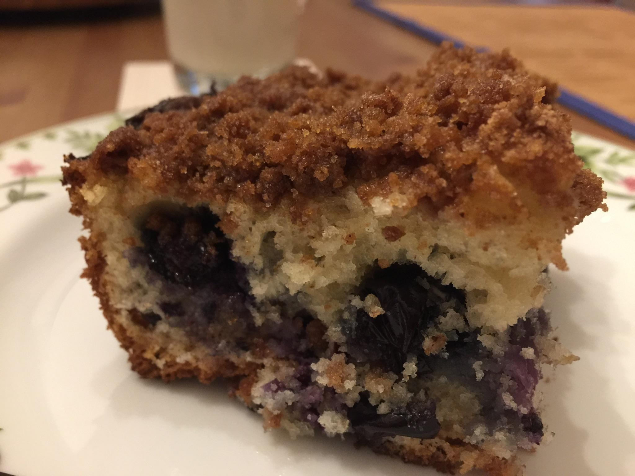 Blueberry Muffin Cake DebbieLynn