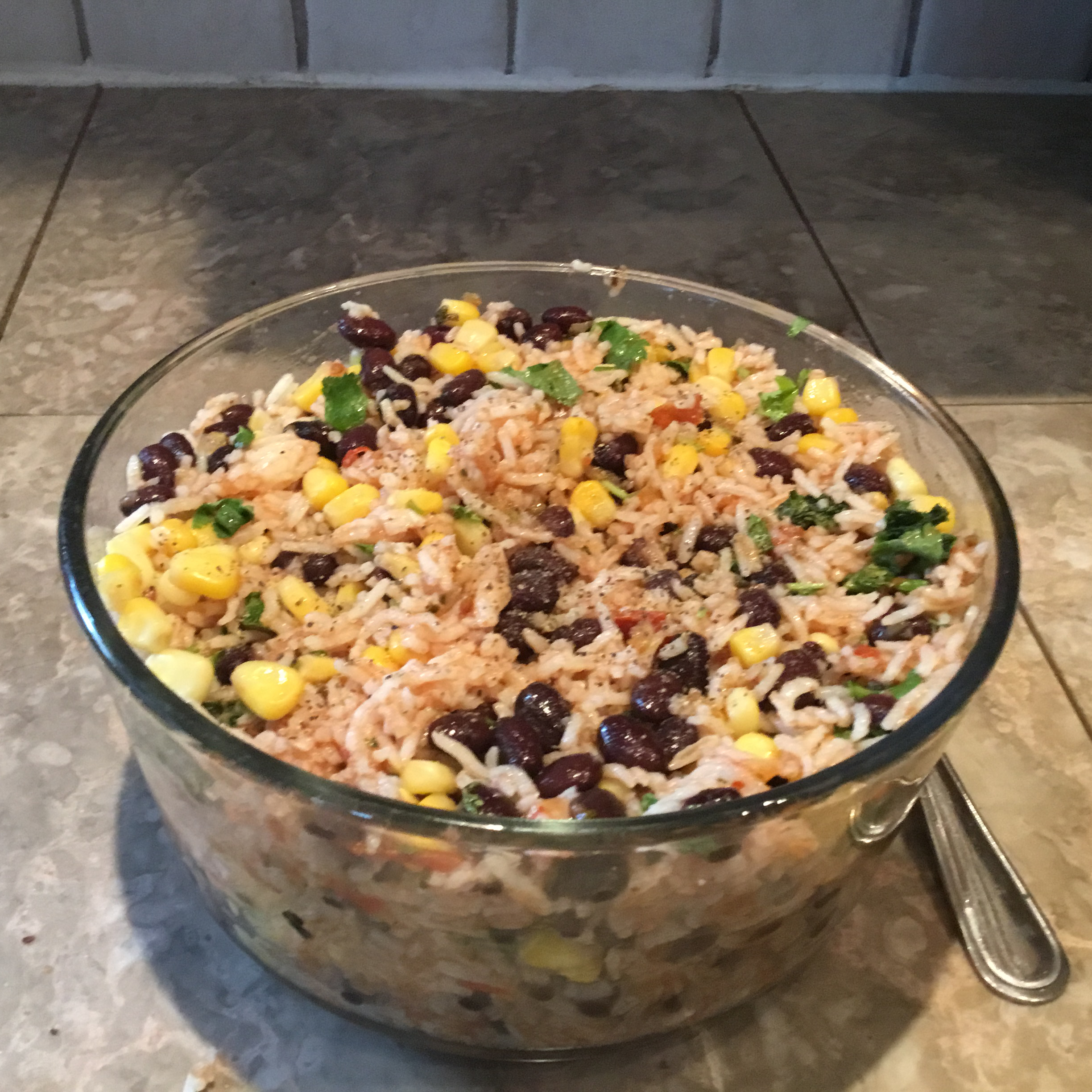 Mexican Chicken and Rice Salad narend
