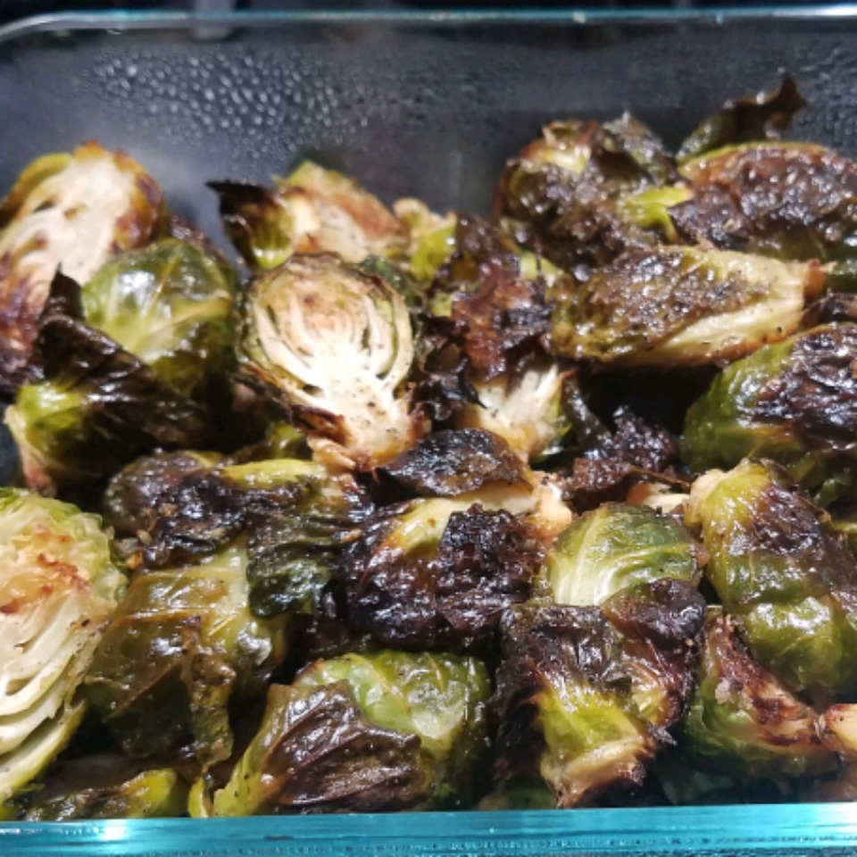 Roasted Brussels Sprouts cmodrzejewski