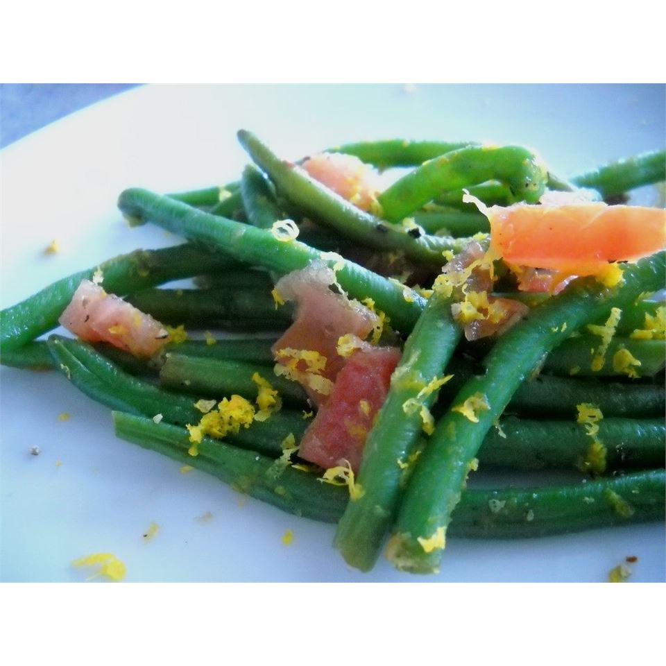 Honey Orange Green Beans Linda T