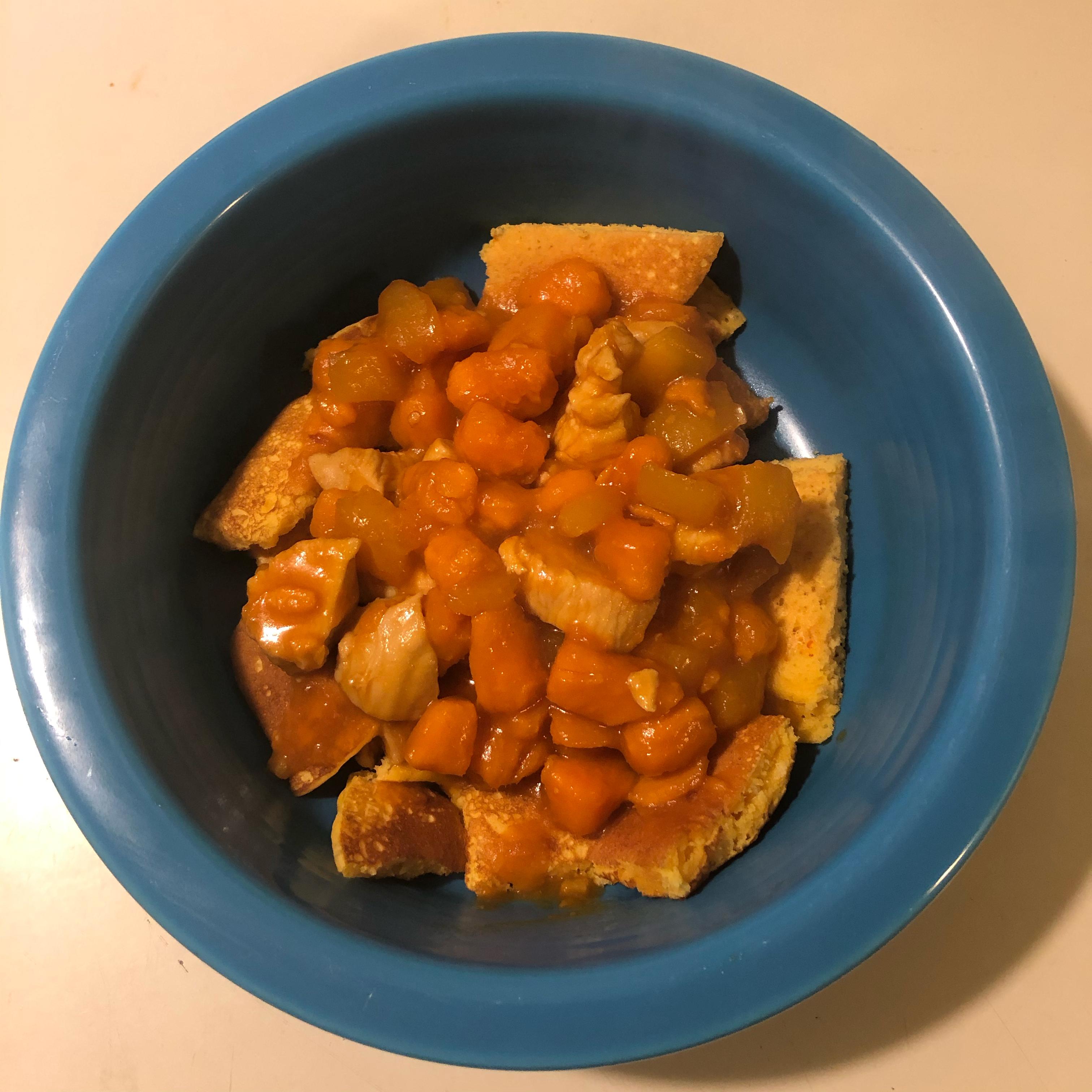 Spicy Mango Sweet Potato Chicken Greg Bickett