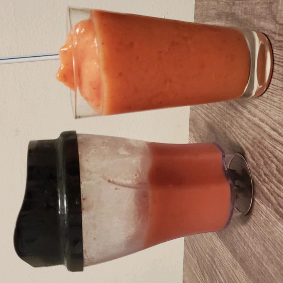 Strawberry Orange Banana Smoothie