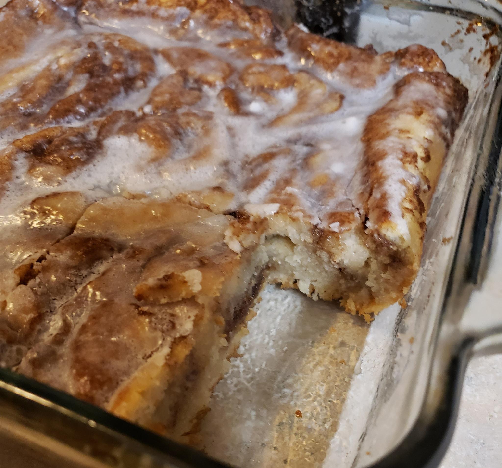 Cinnabon® Cinnamon Roll Cake