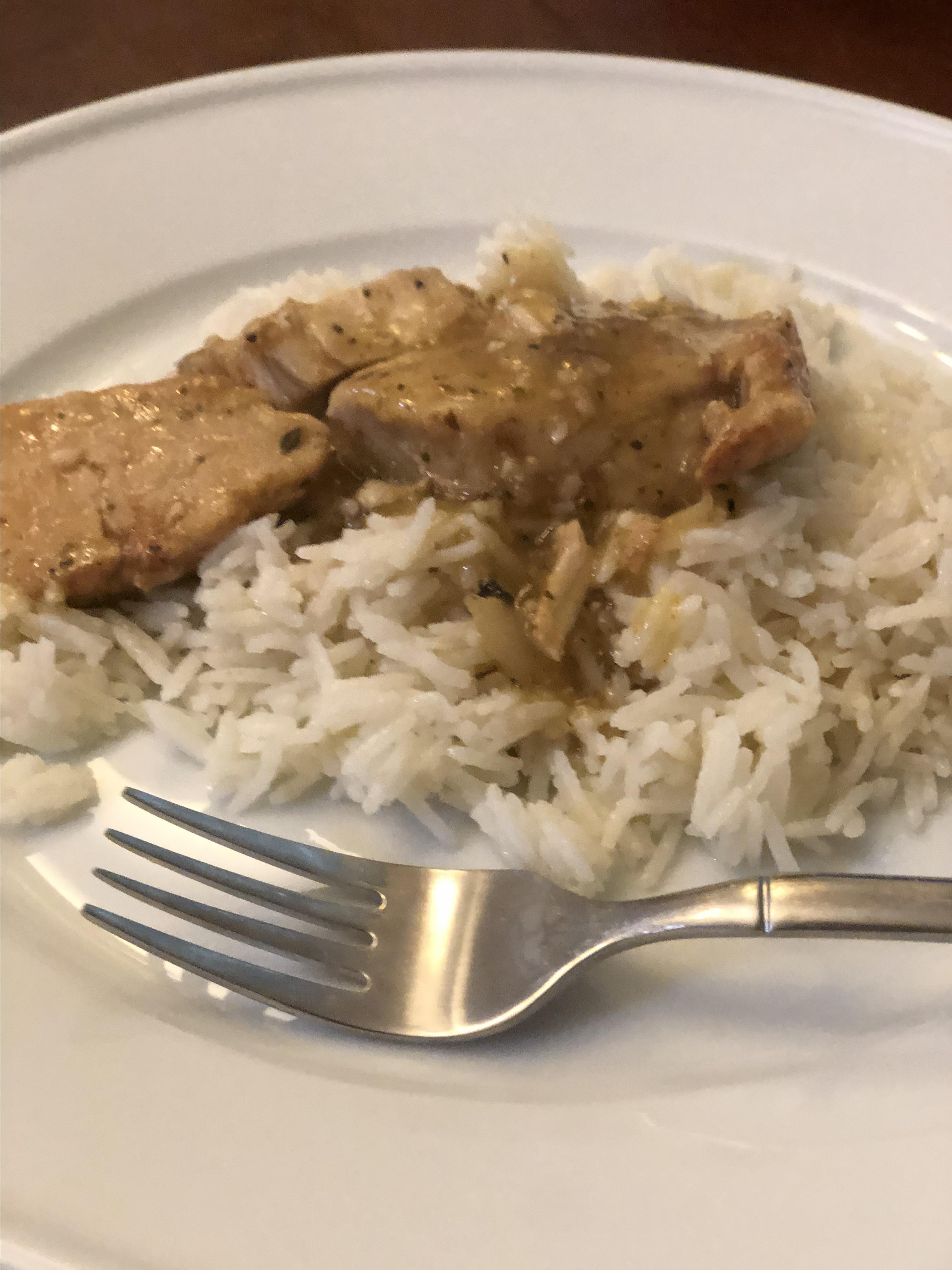 Instant Pot® Lemon-Garlic Chicken Kristen Combs