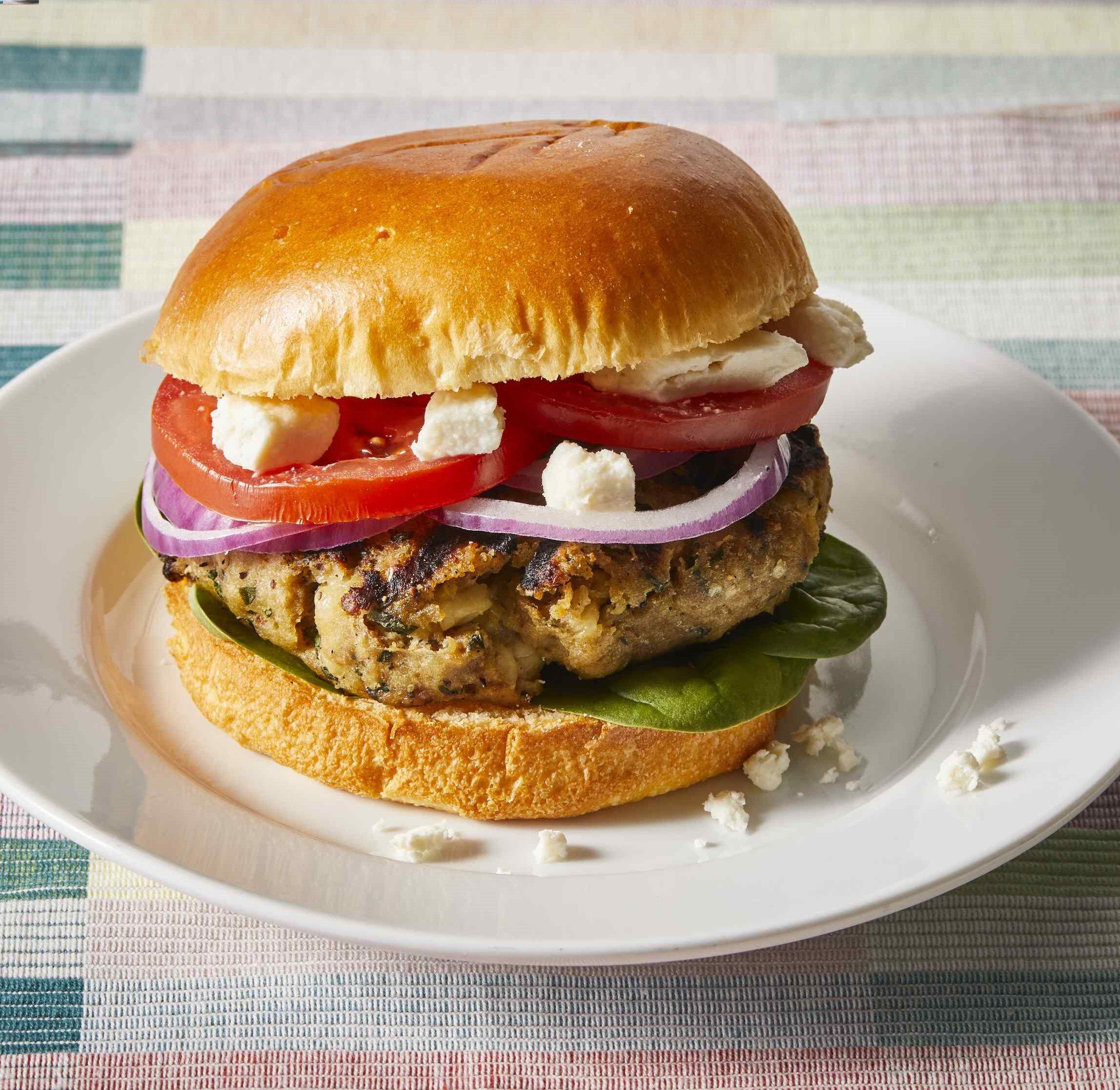 Greek Turkey Burgers Recipe Allrecipes