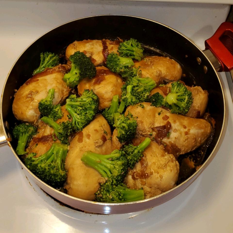 Sweet Garlic Chicken gourmet flossie