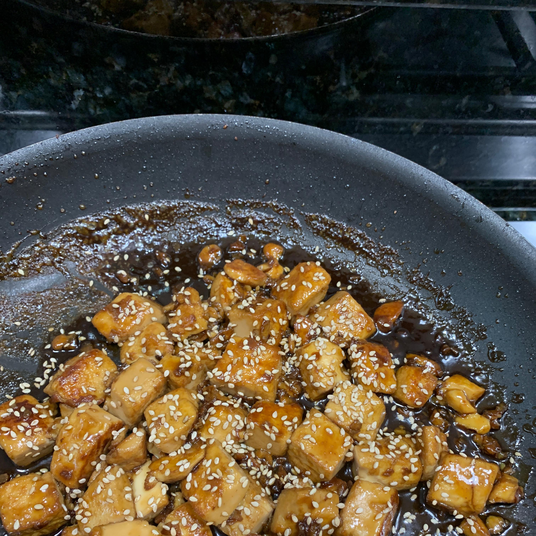 Maple Glazed Tofu Danielle Deramo